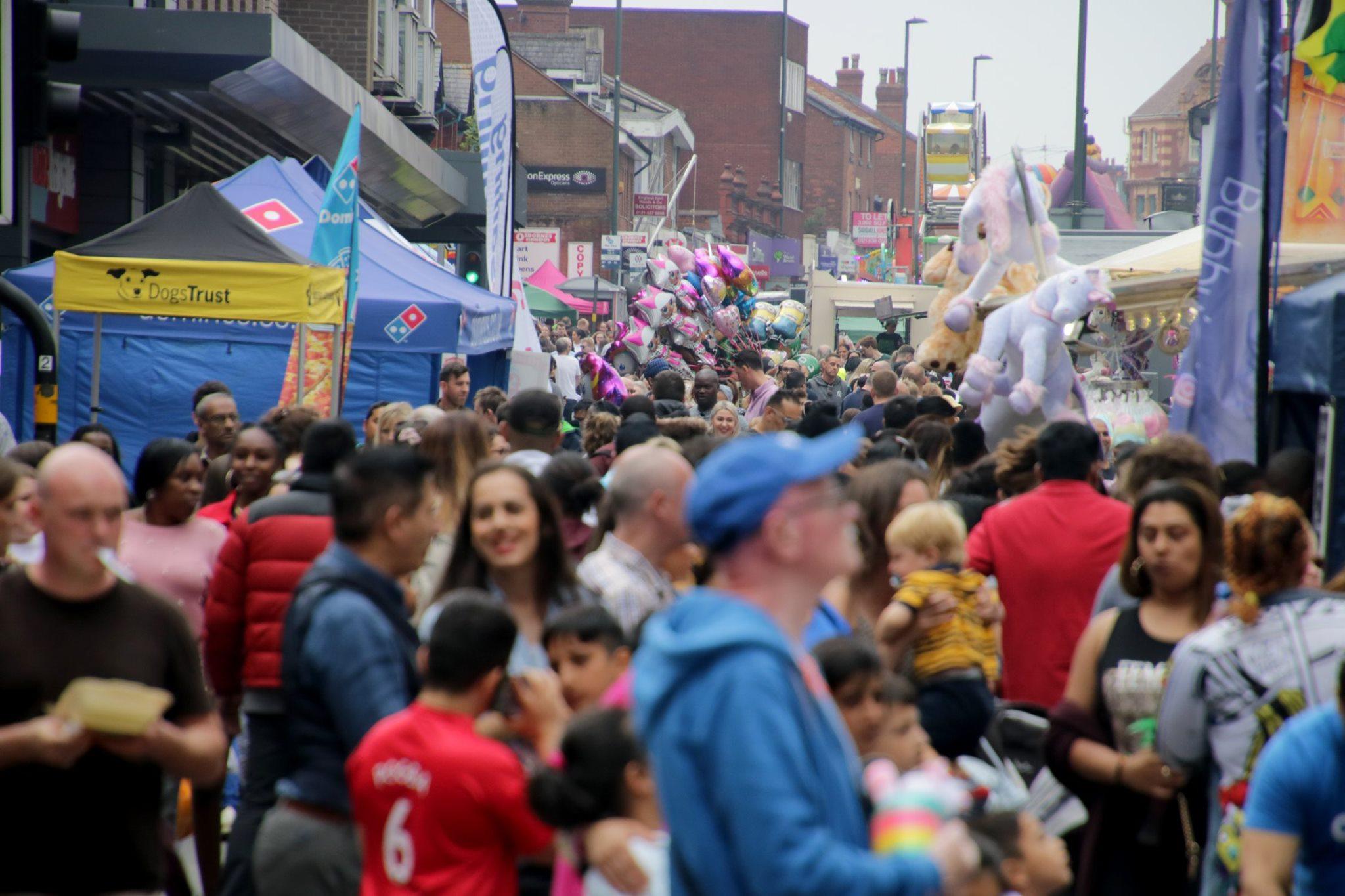 Harborne Carnival in 2019
