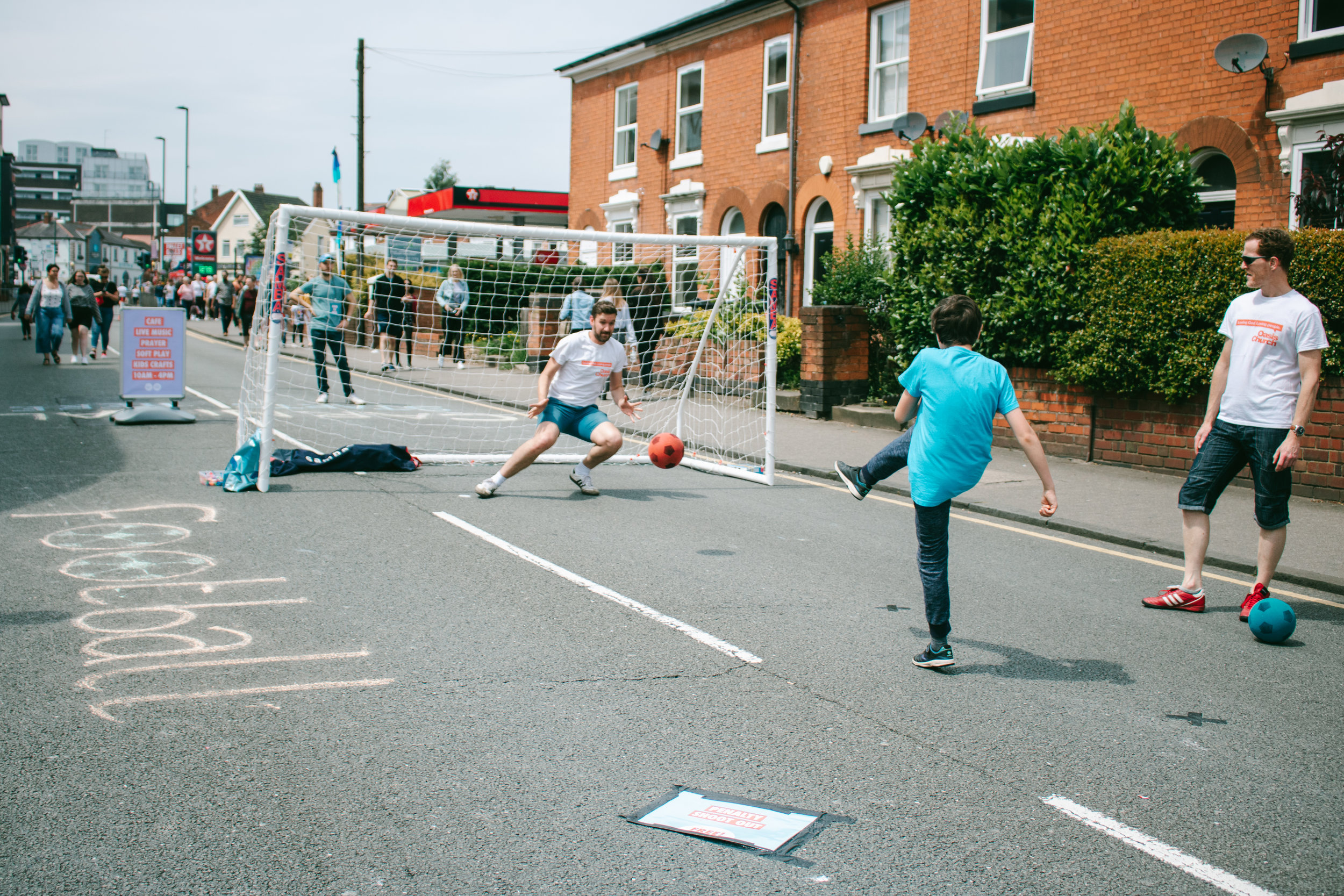 Oasis Church's games proved popular again