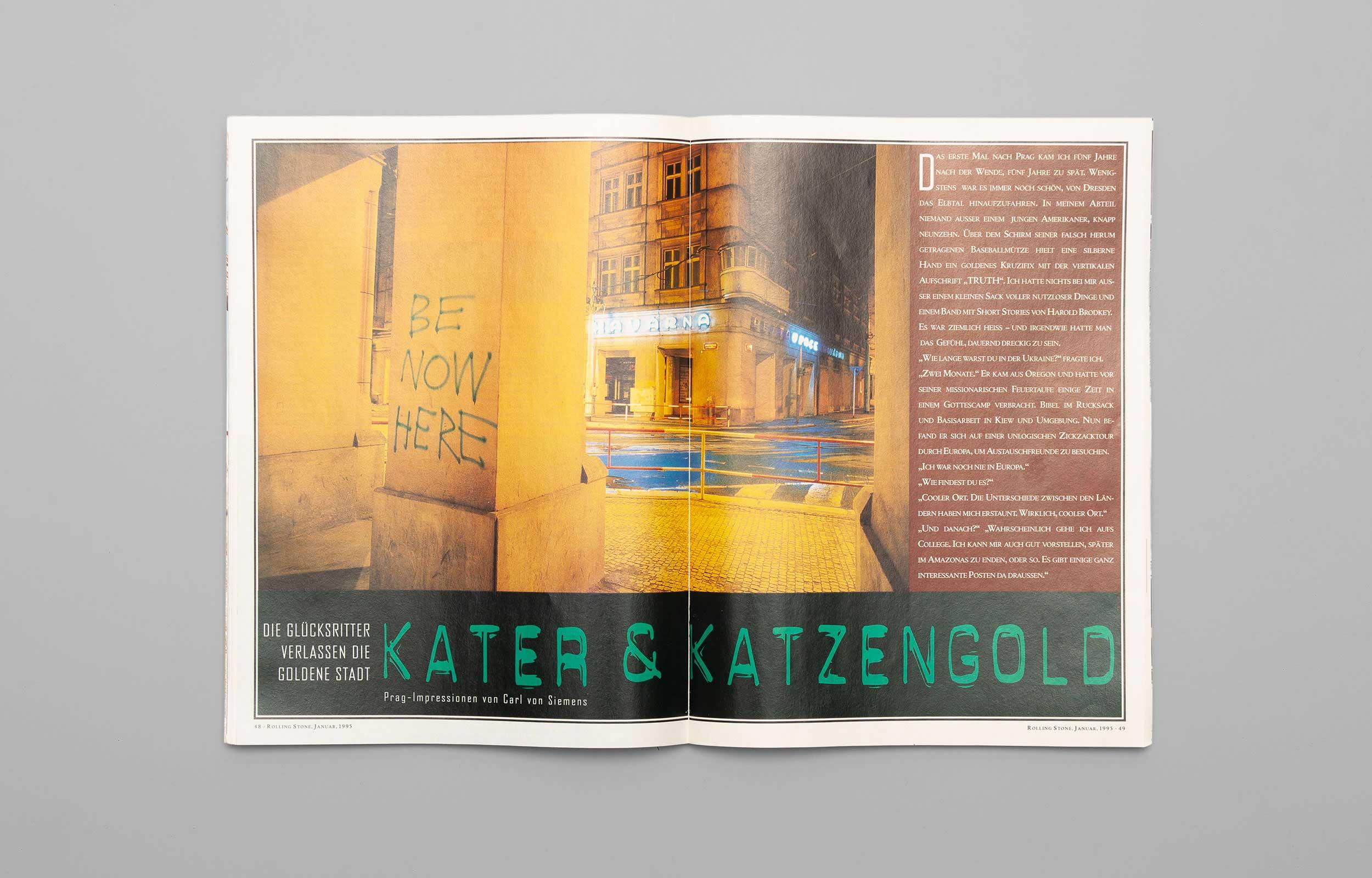 Carl von Siemens Rolling Stone Story 1