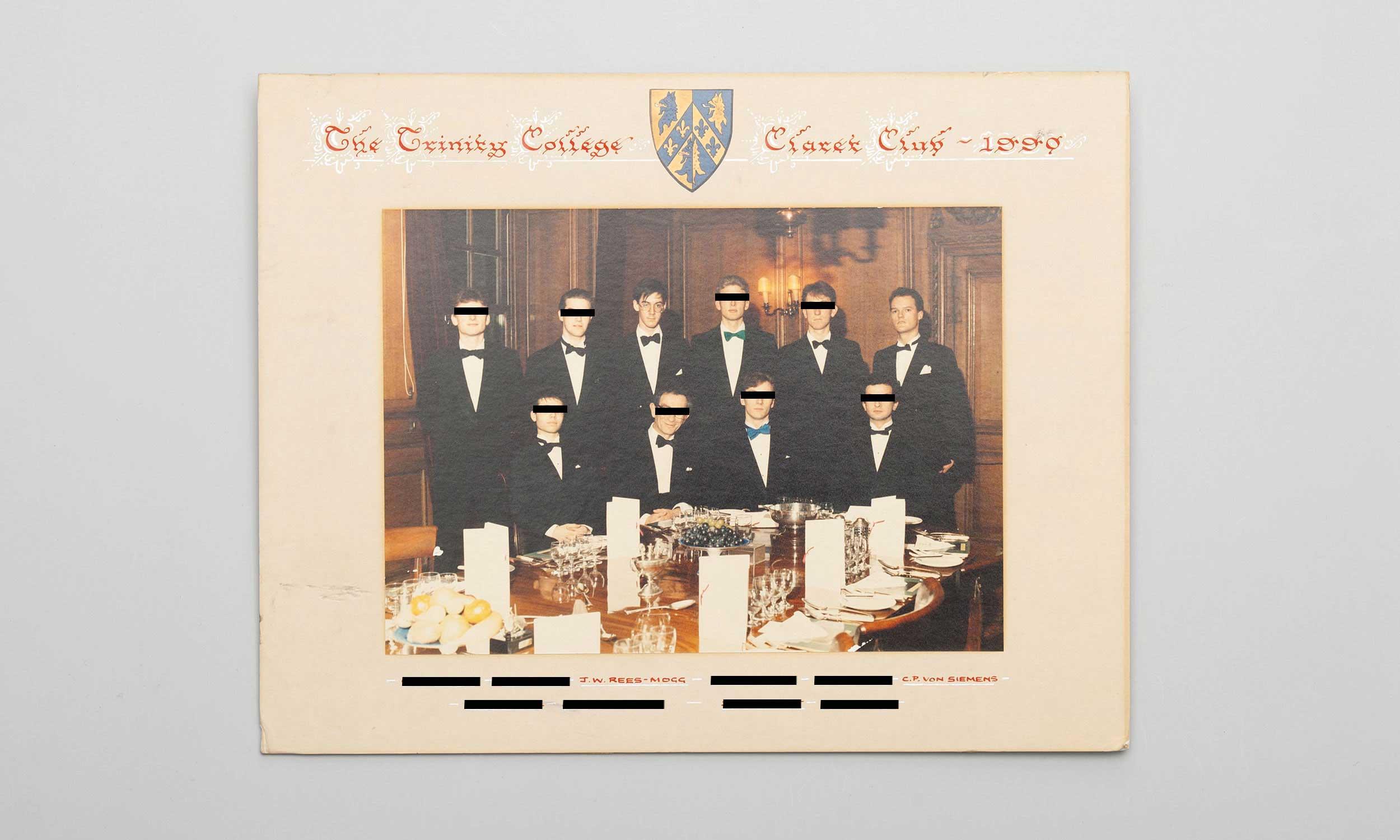 Carl von Siemens Trinity College Claret Club
