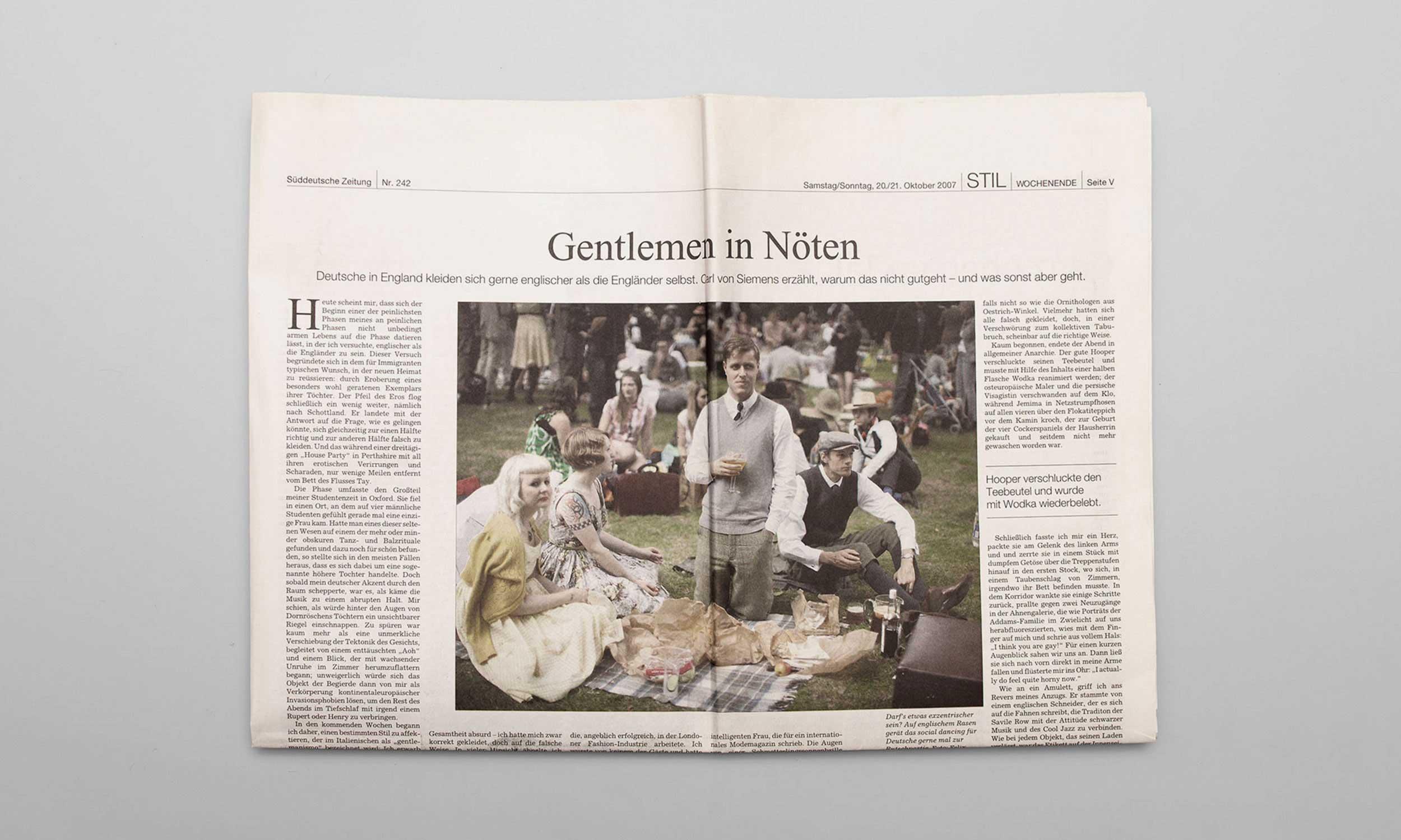 Carl von Siemens Gentlemen in Nöten