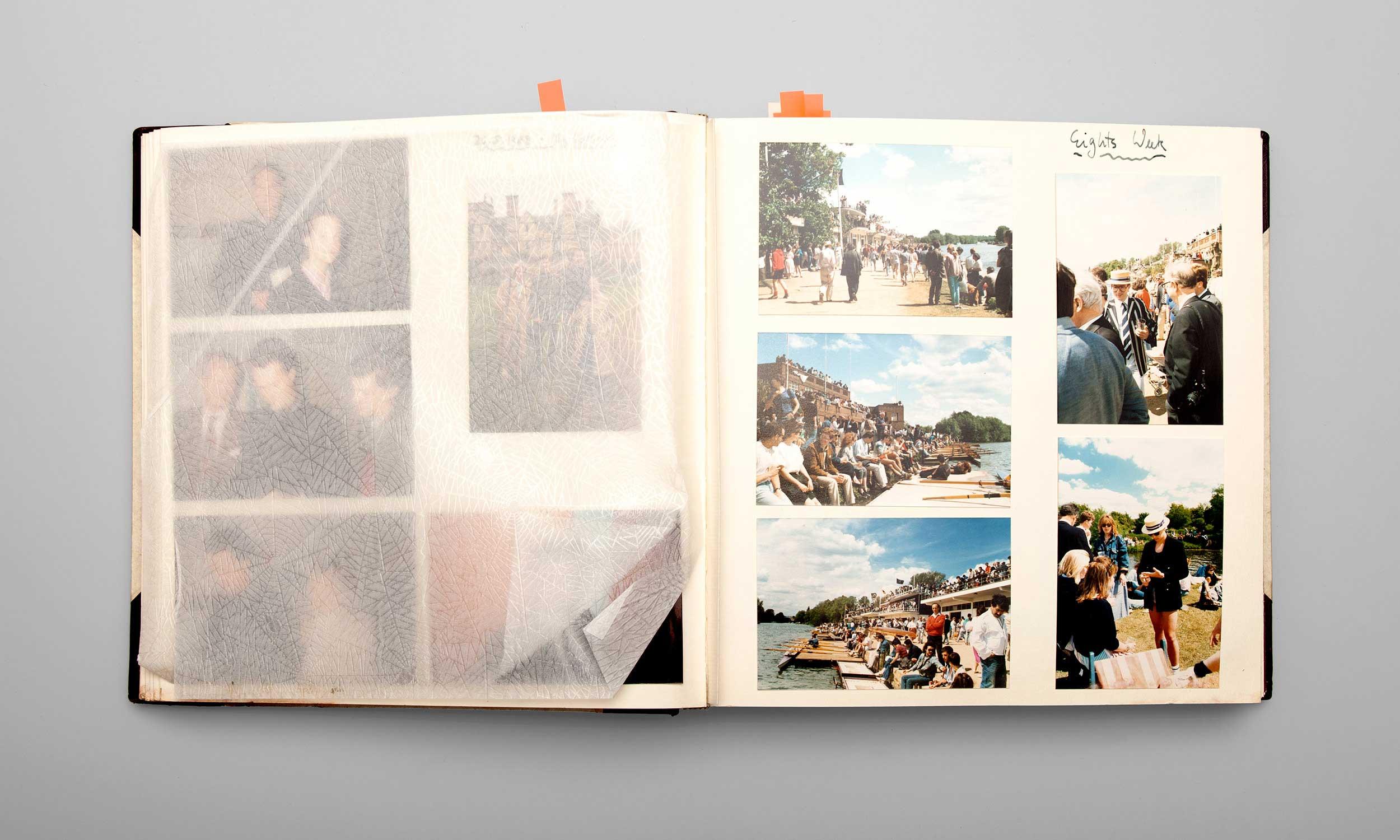 Carl von Siemens Fotoalbum Eights Week Oxford