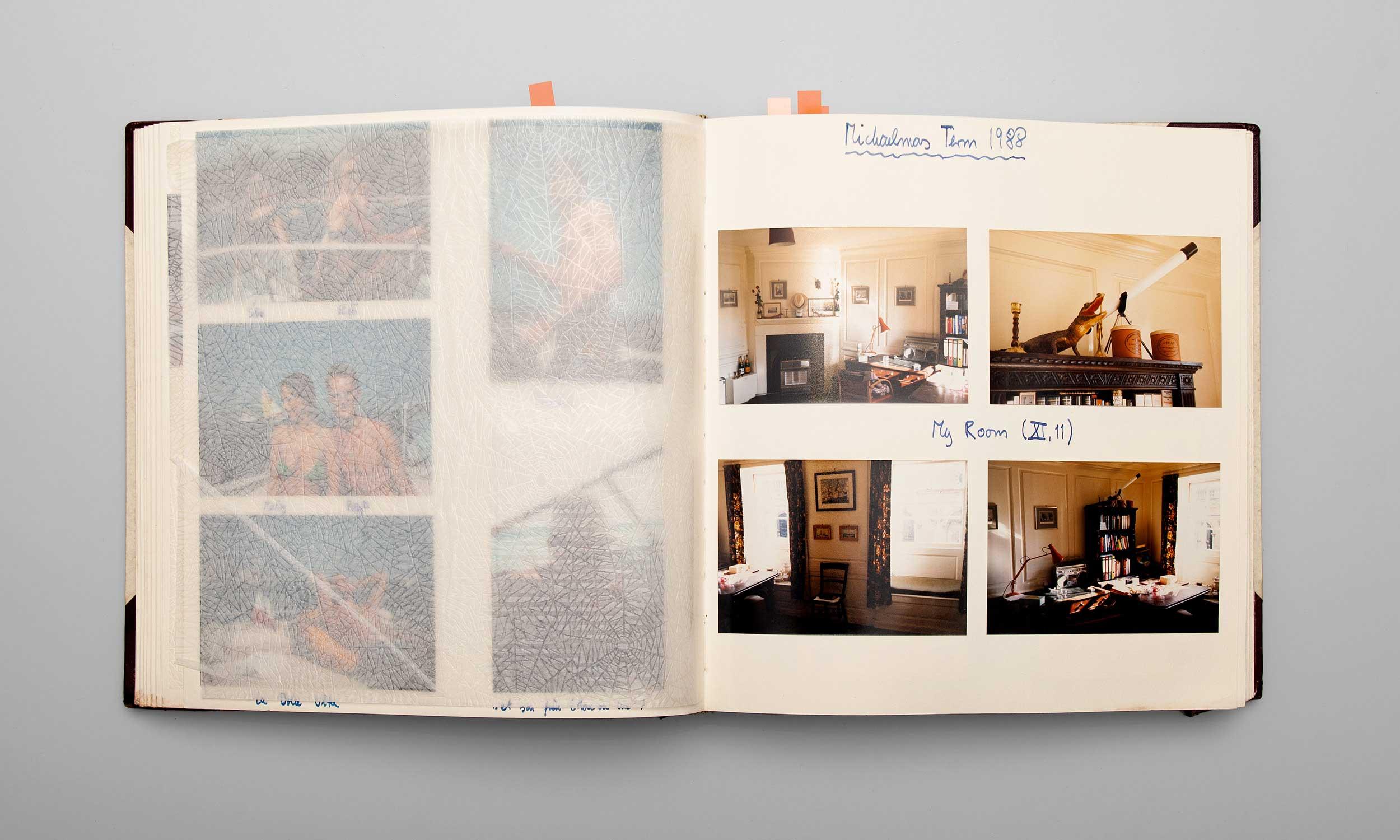 Carl von Siemens Fotoalbum Trinity College