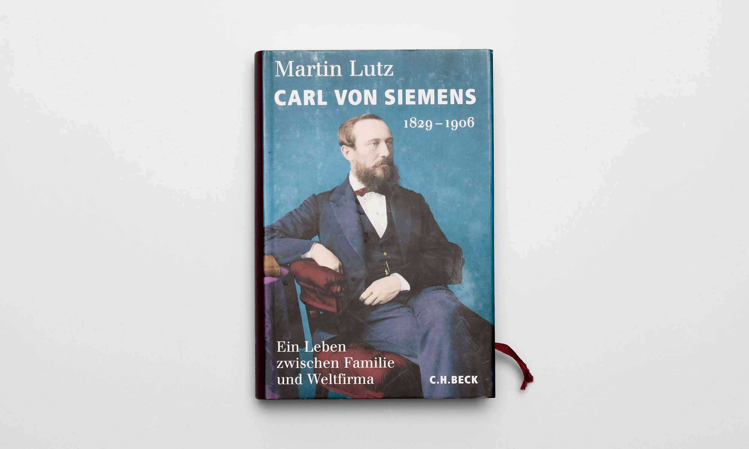 Carl von Siemens Umschlag Martin Lutz