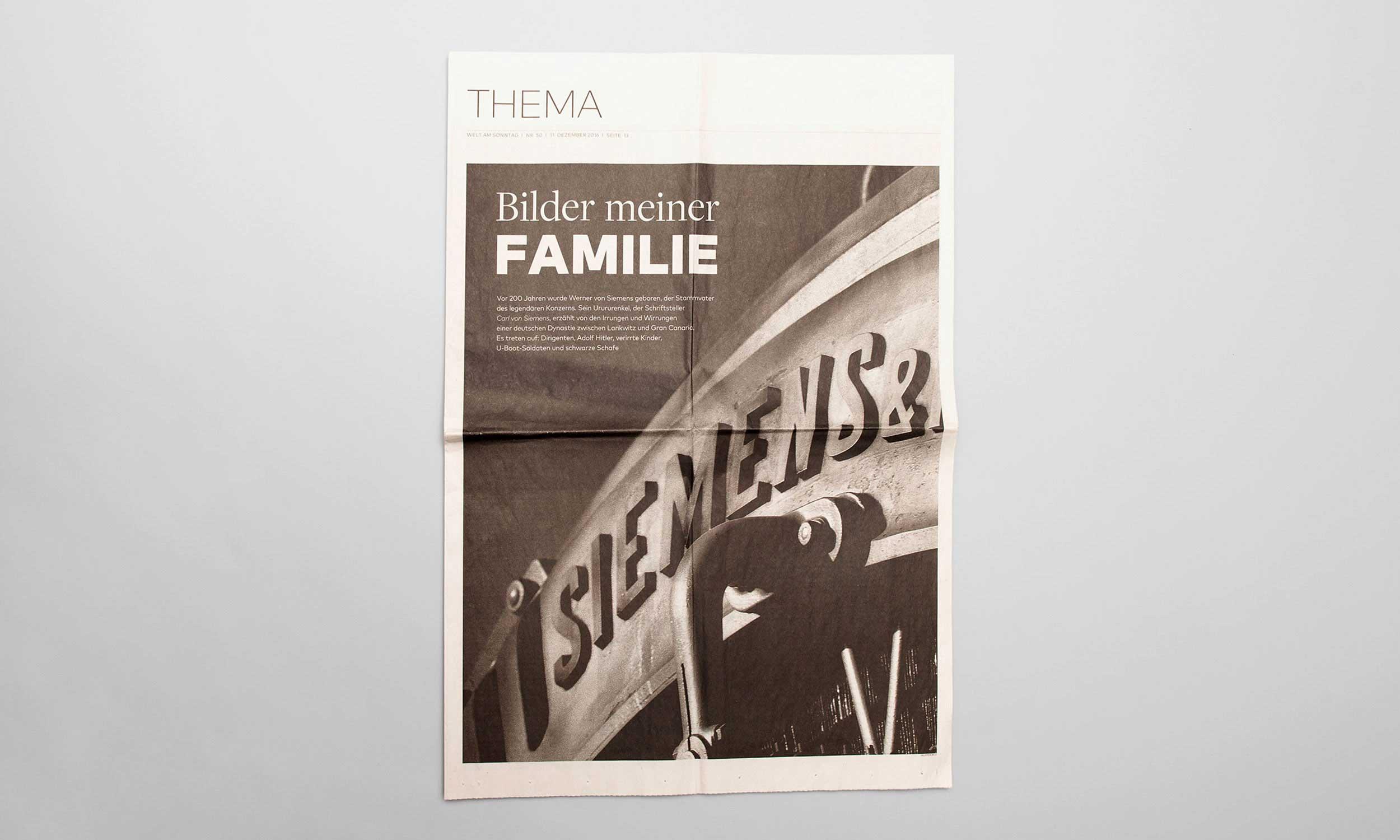Carl von Siemens Familiengeschichte