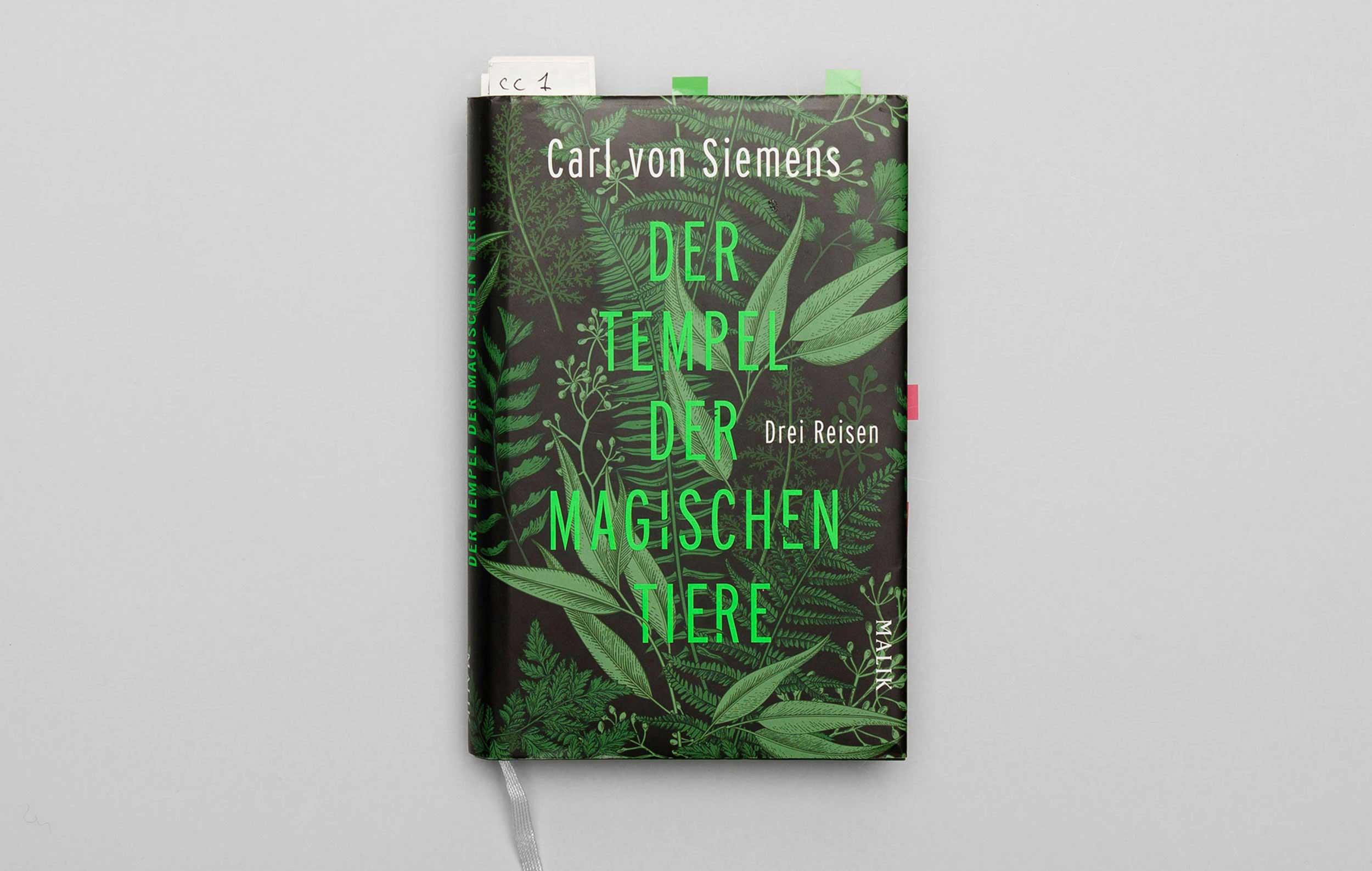 """Carl von Siemens """"Der Tempel der magischen Tiere"""