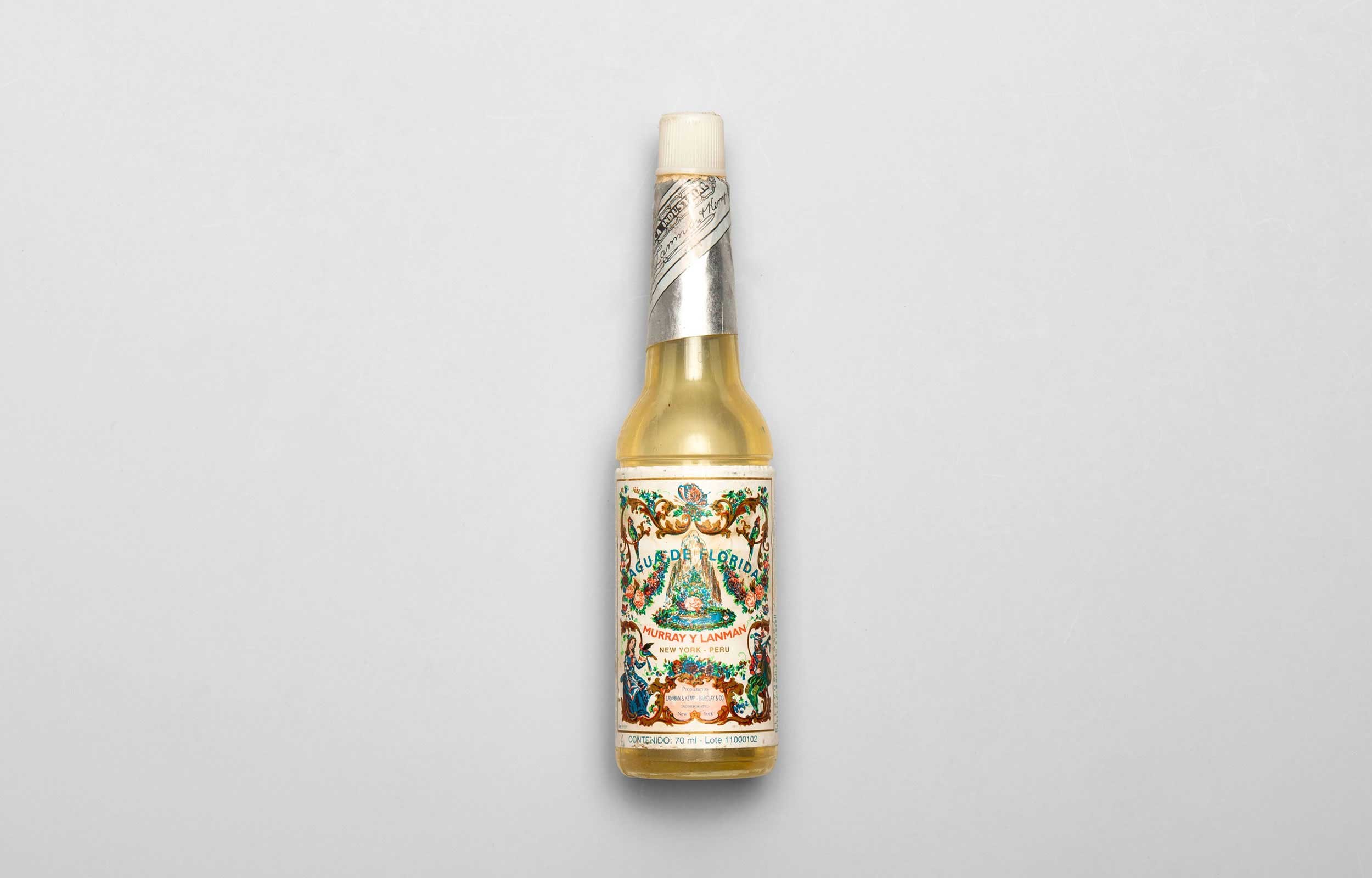 Carl von Siemens Aqua de Florida Flasche