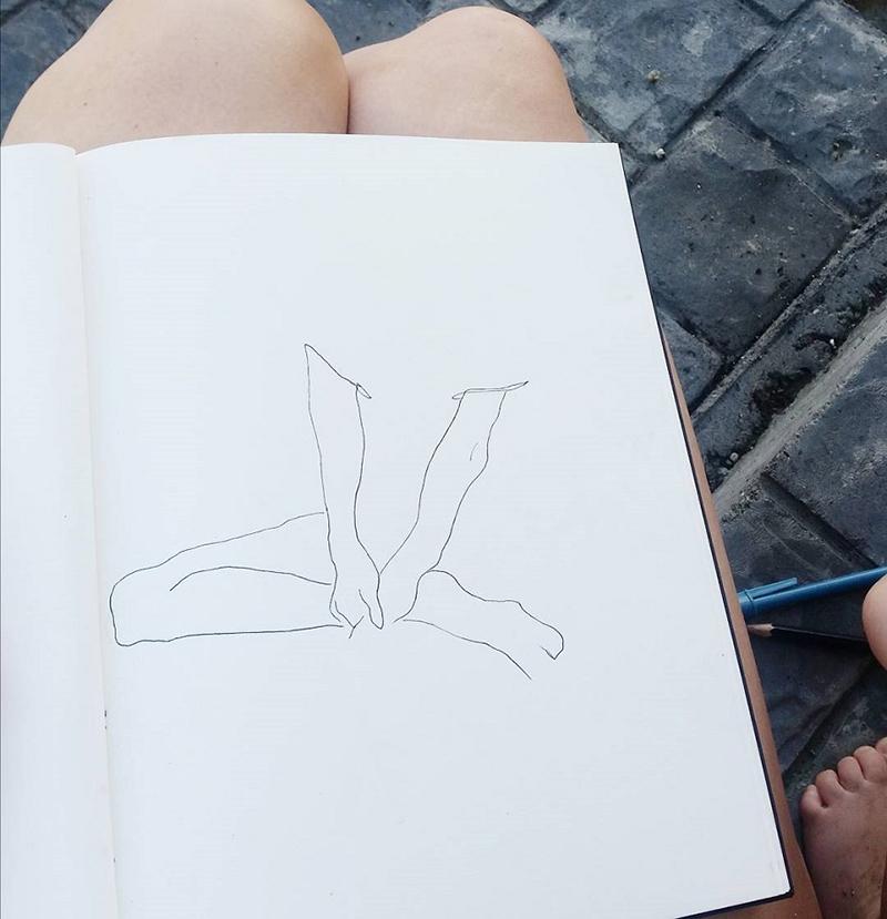Kayla gayle sketching.jpg