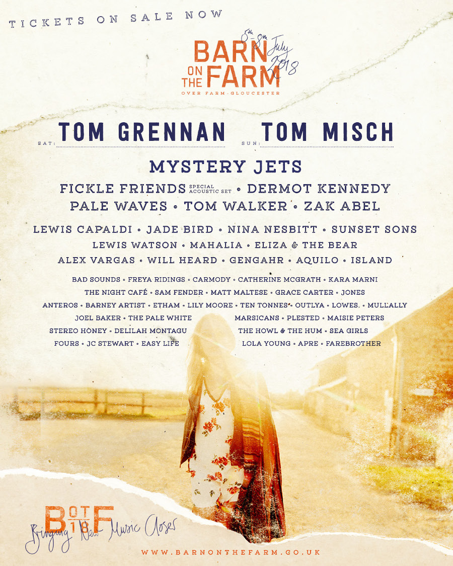 Line Up — Barn On The Farm Festival | 2nd – 5th July 2020 | Over