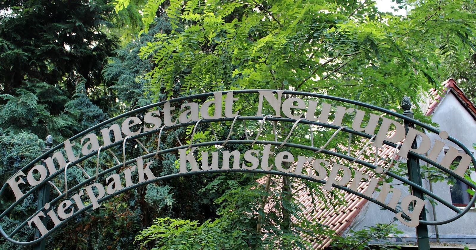 Tierpark Neuruppin Kunsterspring