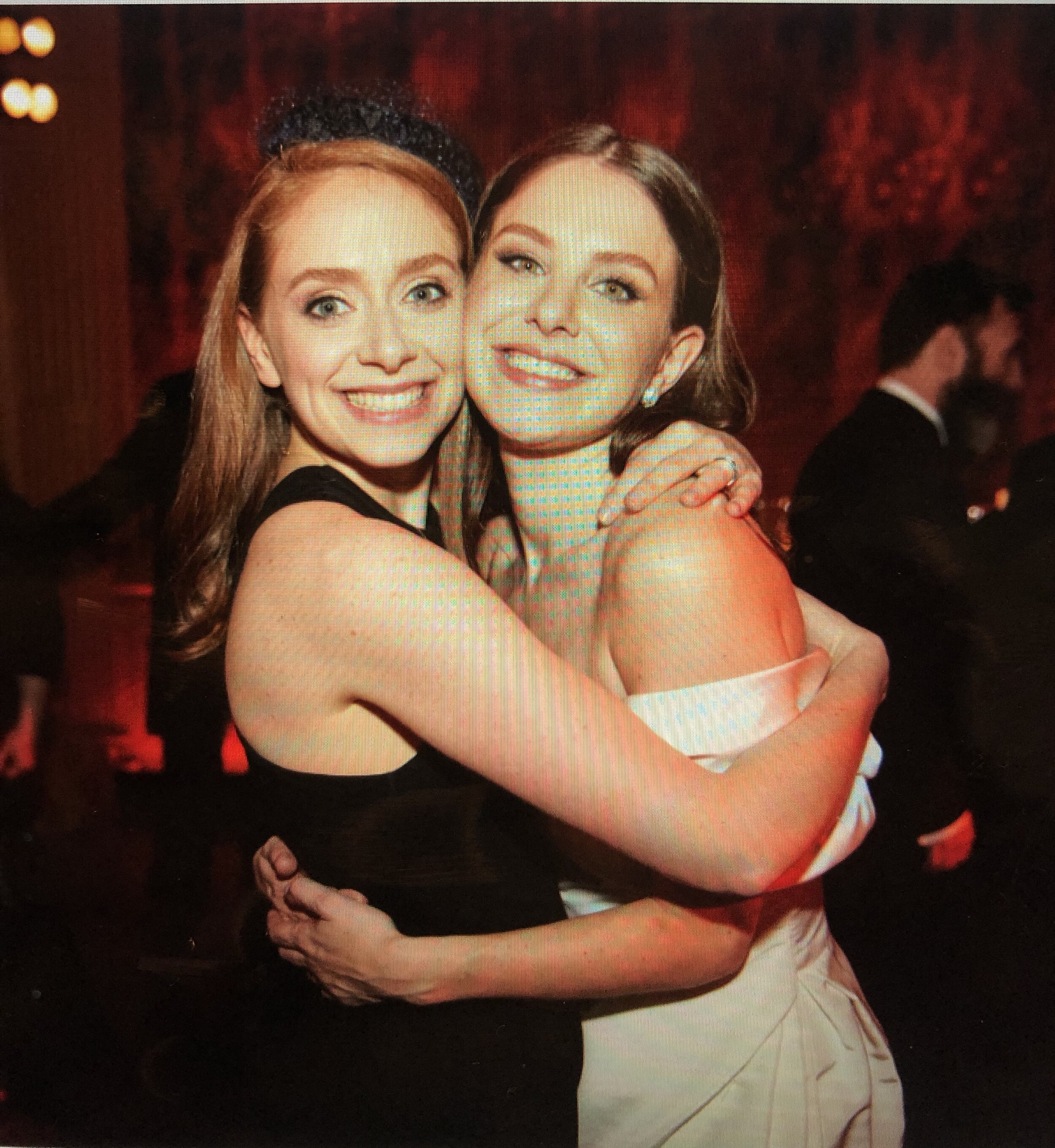 Ruthie and me at her wedding to Steven Chaiken at the Frick Collection.