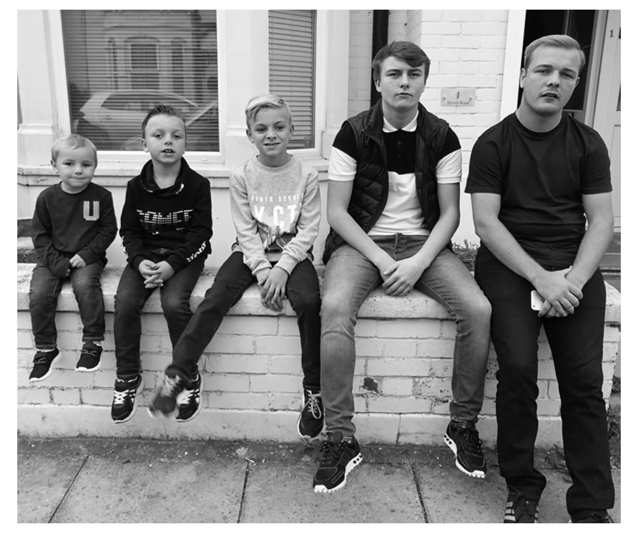 My beautiful five boys who are now tired of being photgraphed its your turn !!