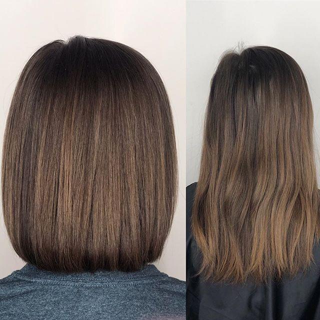 Things go better with a bob! Haircut by @jenniebrummondhair  #beforeandafterhair #longtoshorthair #bob #bobhaircut #bobhairstyles #annarborhair #annarborhairstylist #annarborhairsalon #annarborsalon #orbithairdesign #orbithair #fckinghair #behindthechair #americansalon #modernsalon