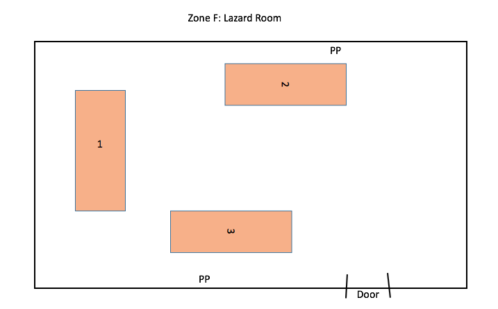 Zone F: Lazard Room