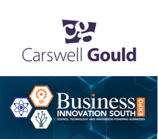 9th July 2019 - #BIS2019 welcome Carswell Gould to Business Innovation South Expo who take the first stand in Zone B. Carswell Gould are proud to be an integrated agency. Their specialism is marketing communications from every angle. They say