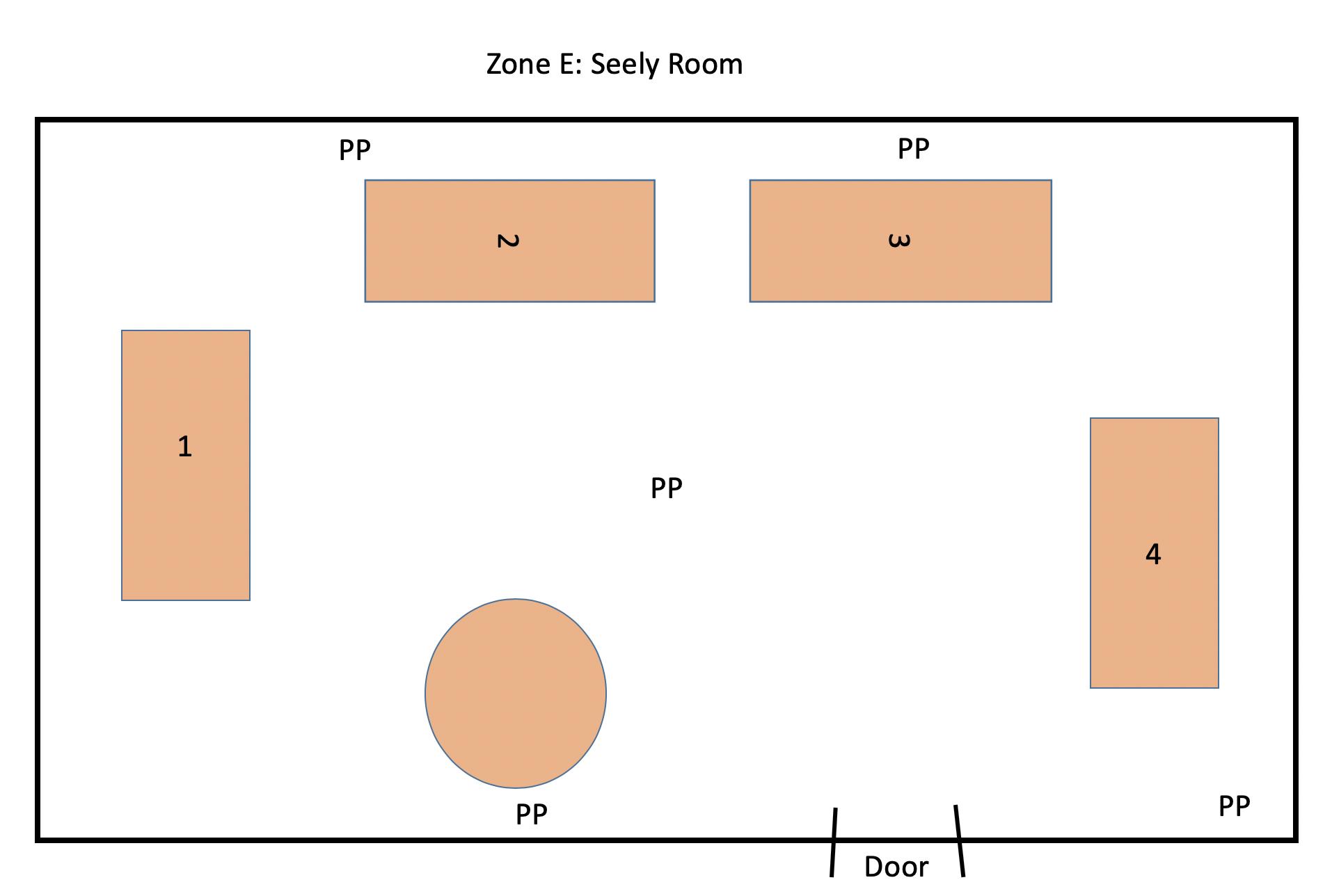 Zone E: Seely Room