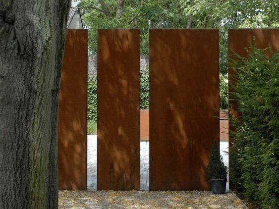 Cor-Ten Panel Fence
