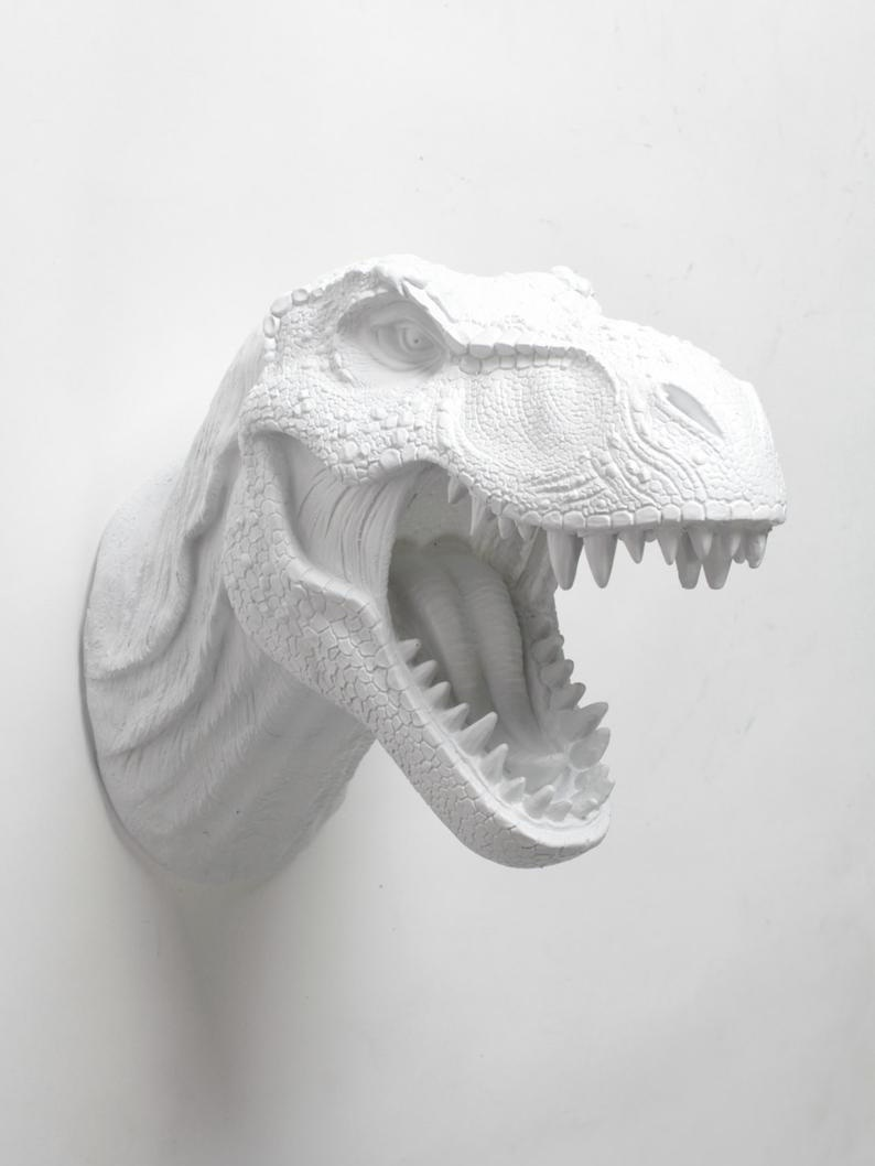 Dinosaur faux taxidermy - What is life without a touch of whimsy? Add the unexpected with some modern taxidermy. Obviously, faux is the only way to go.£75.15