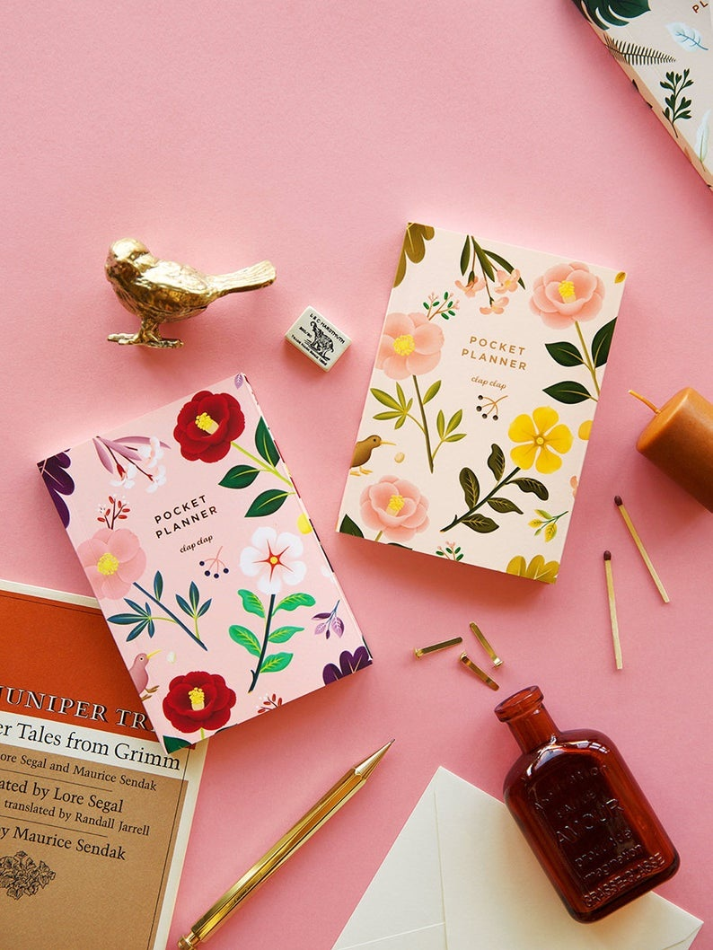 Garden Bloom Pocket Planner - Plan for the gardening year ahead with this pretty floral pocket organiser. You'll never forget to plant your seeds at the right time again!£13.36