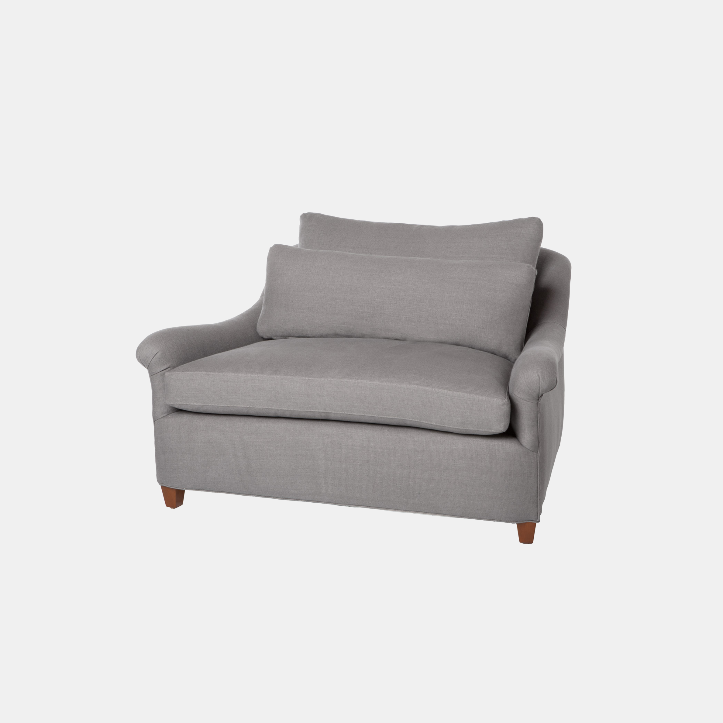 """Genevieve Chair and a Half  50""""w x 32""""h x 40""""d Available slipcovered and upholstered. SKU1099CSC"""