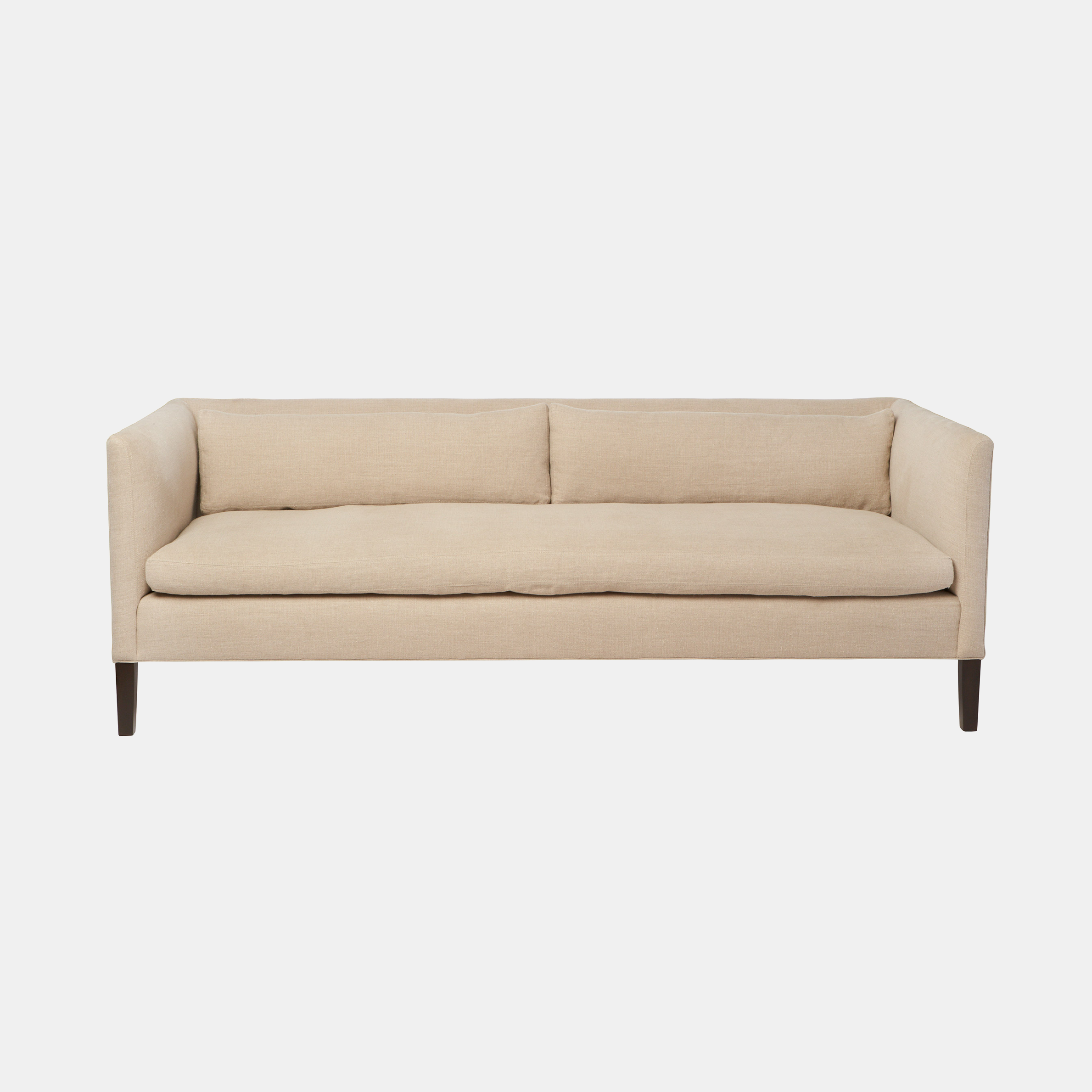 """Stewart Sofa  72""""w x 31""""h x 34""""d 80""""w x 31""""h x 34""""d 90""""w x 31""""h x 34""""d Also available slipcovered. SKU38293CSC"""