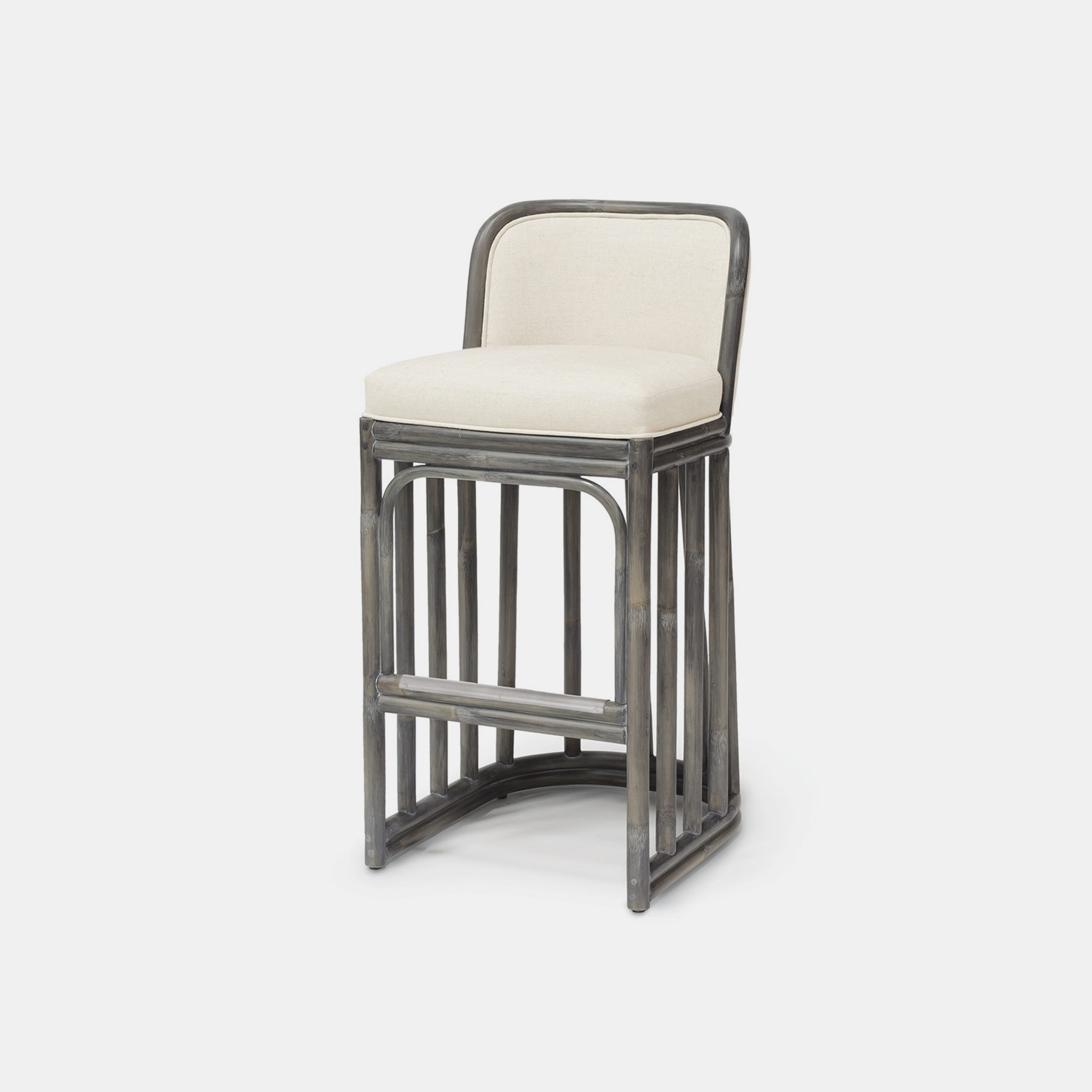 "Duncan Bar Stool  19""w x 21.25""d x 38""h Available in 30"" bar stool and 24"" counter stool. SKU1159PLK"