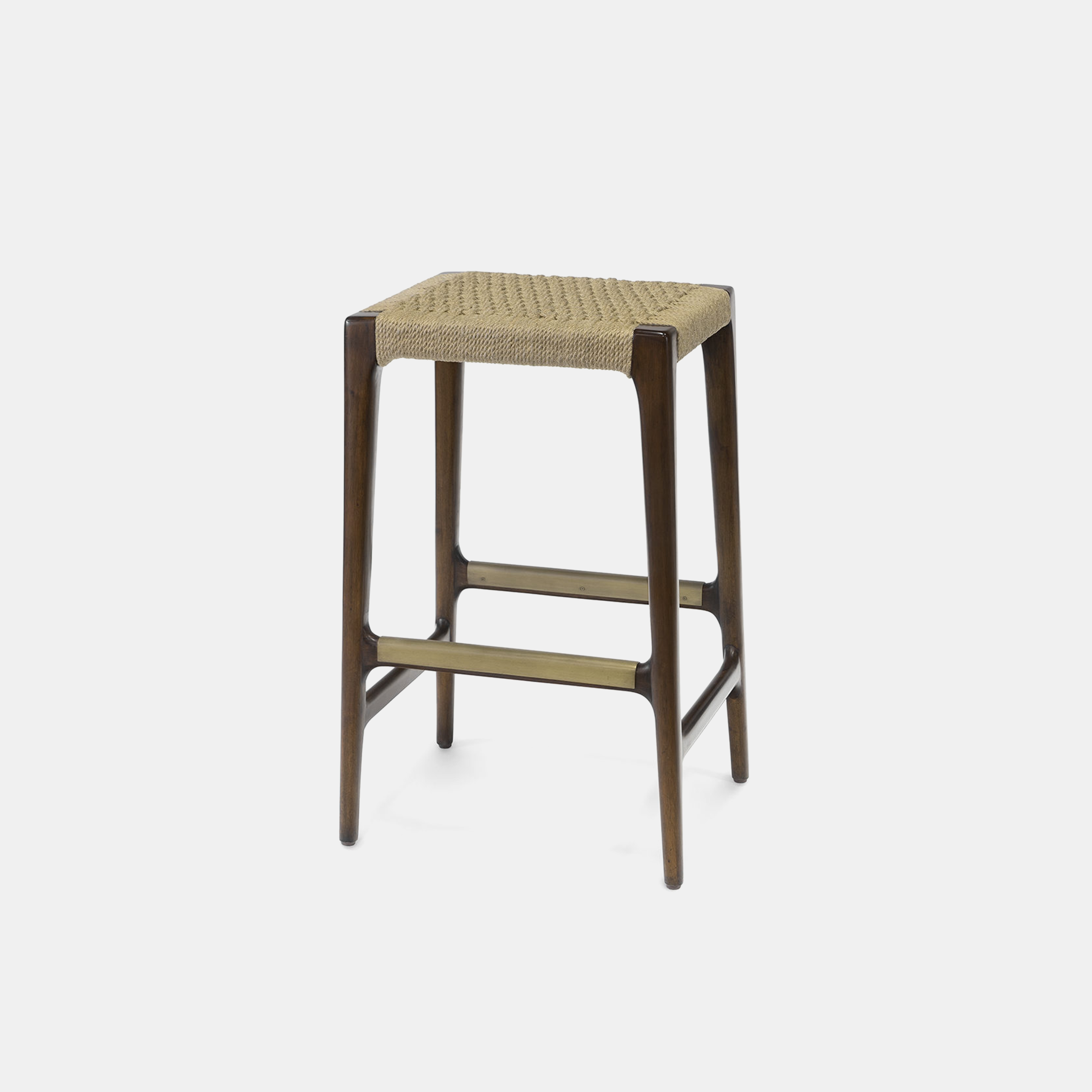 "Marlon Bar Stool  20""w x 16.5""d x 30""h Available in 30"" bar stool and 24"" counter stool. SKU1044PLK"
