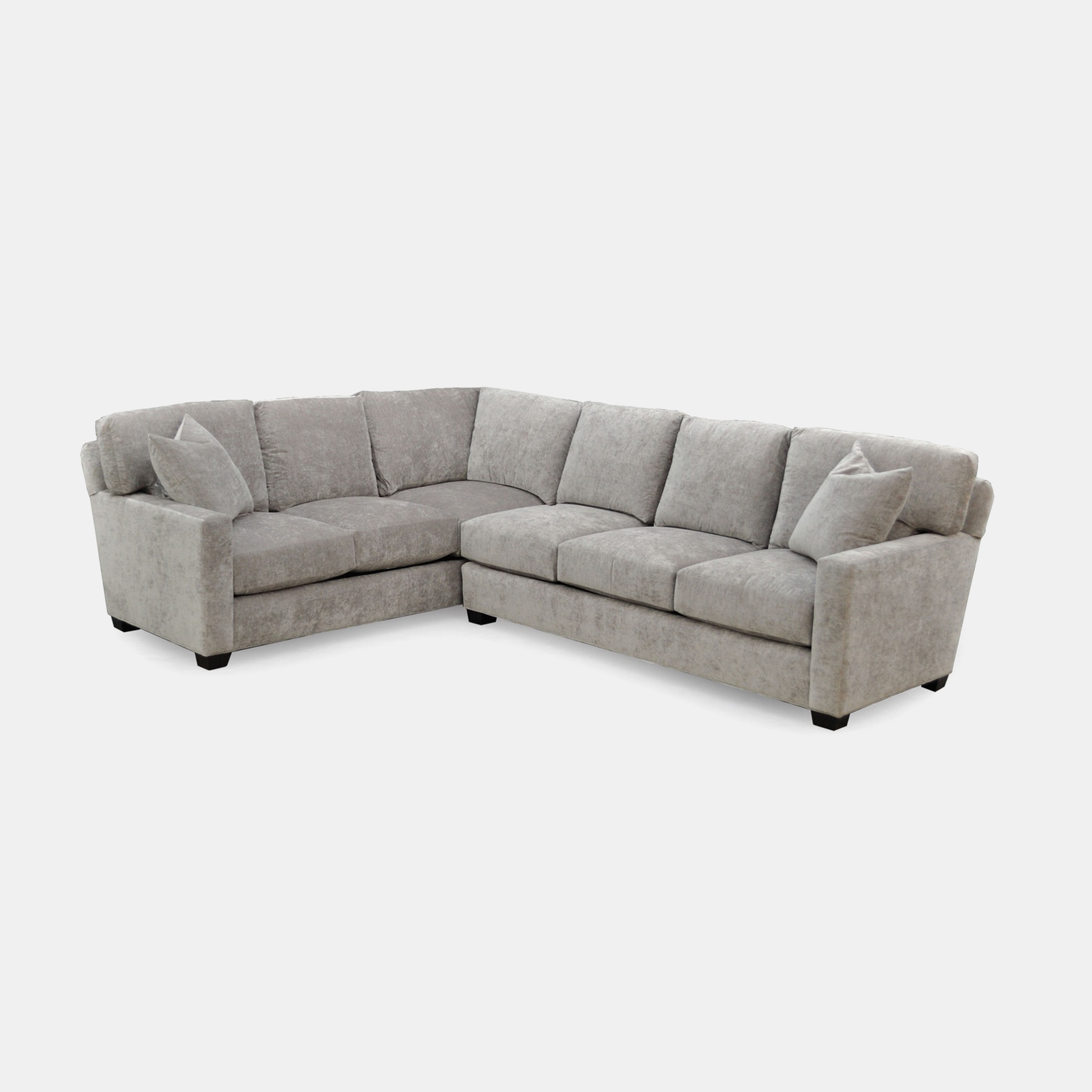 Park City Sectional  Available buy-the-inch and in any sectional configuration. SKU2309STN