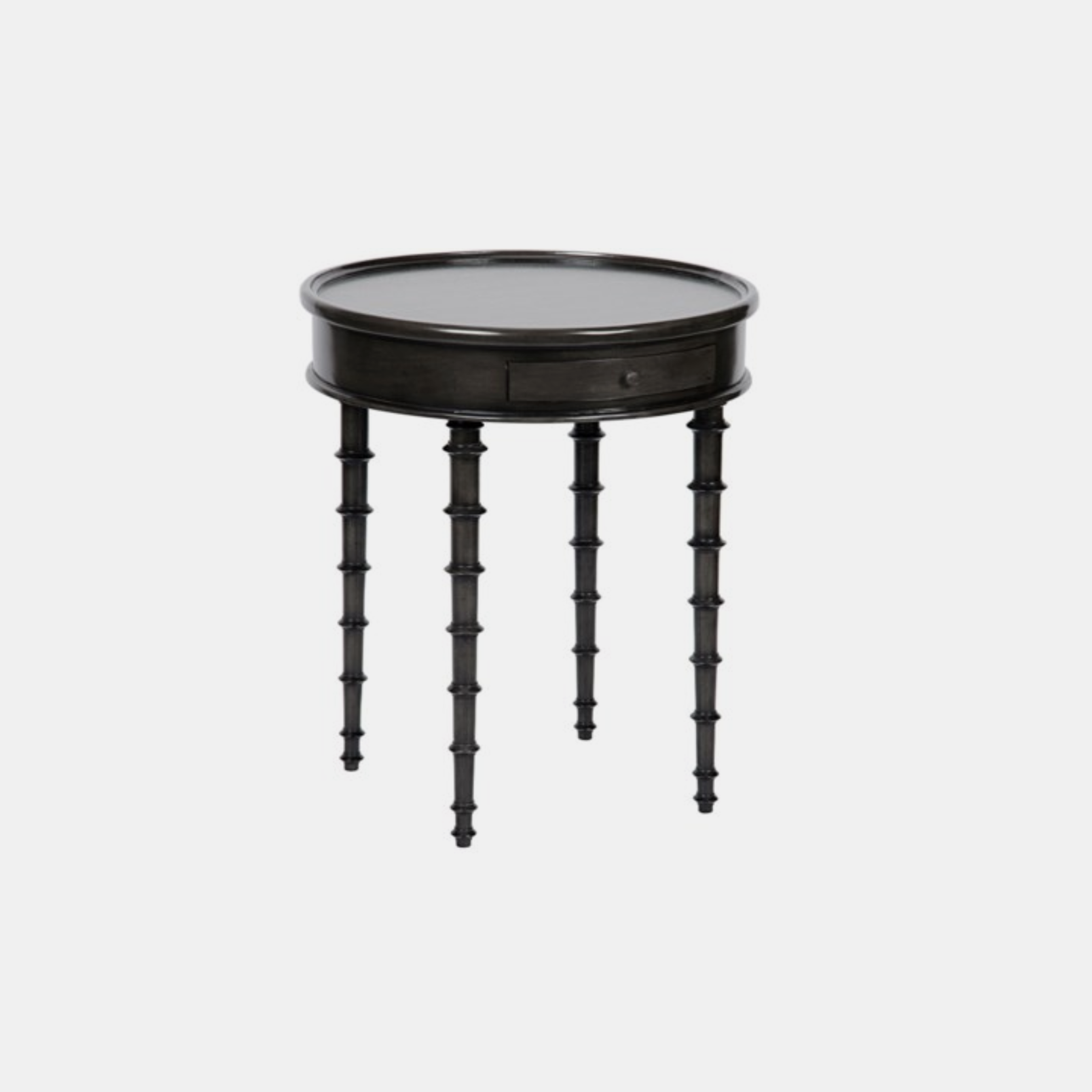 """Beatrix Side Table  24.5"""" round x 28.5"""" h SKU3358NOR"""