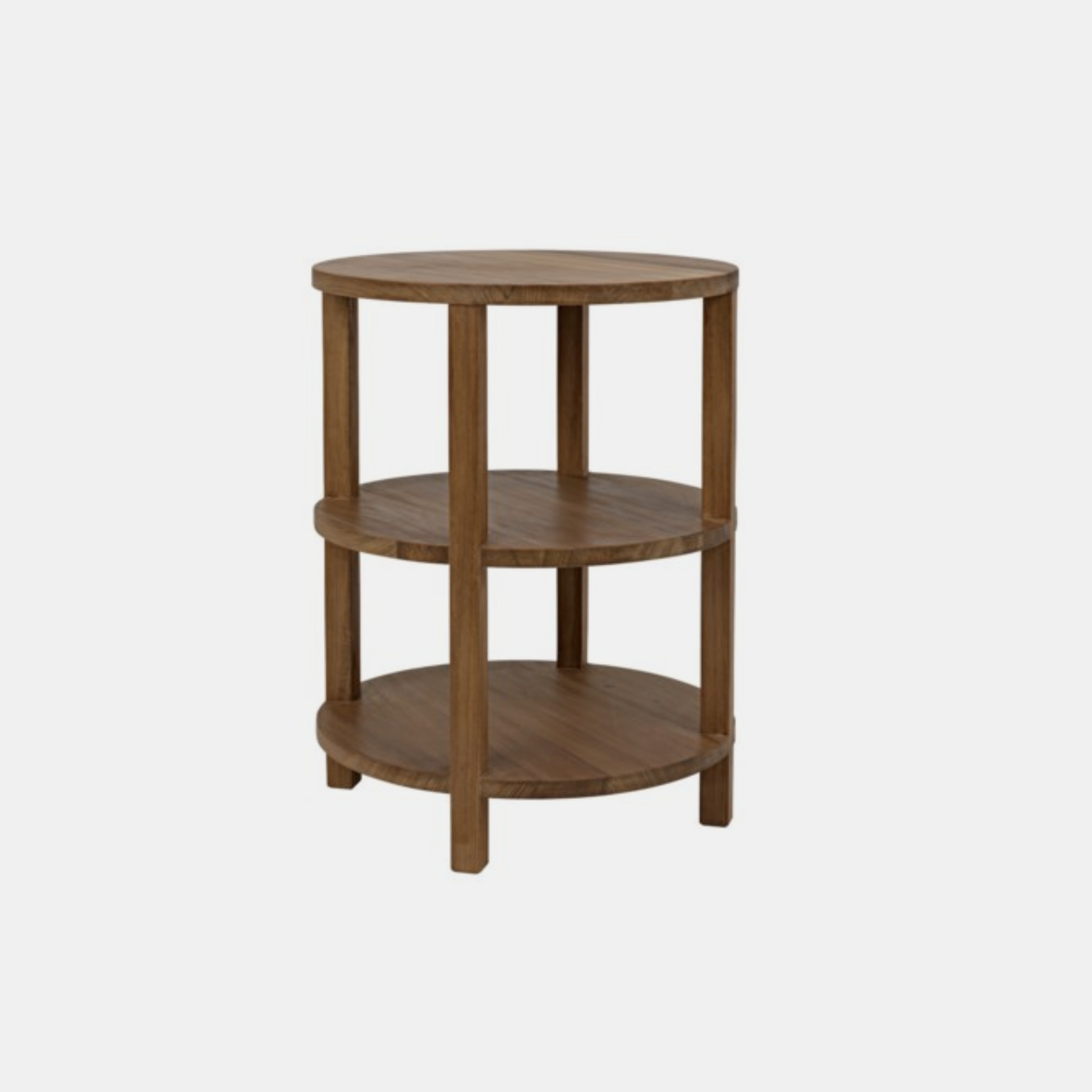 """Tier Side Table  20"""" round x 26""""h SKU177NOR"""