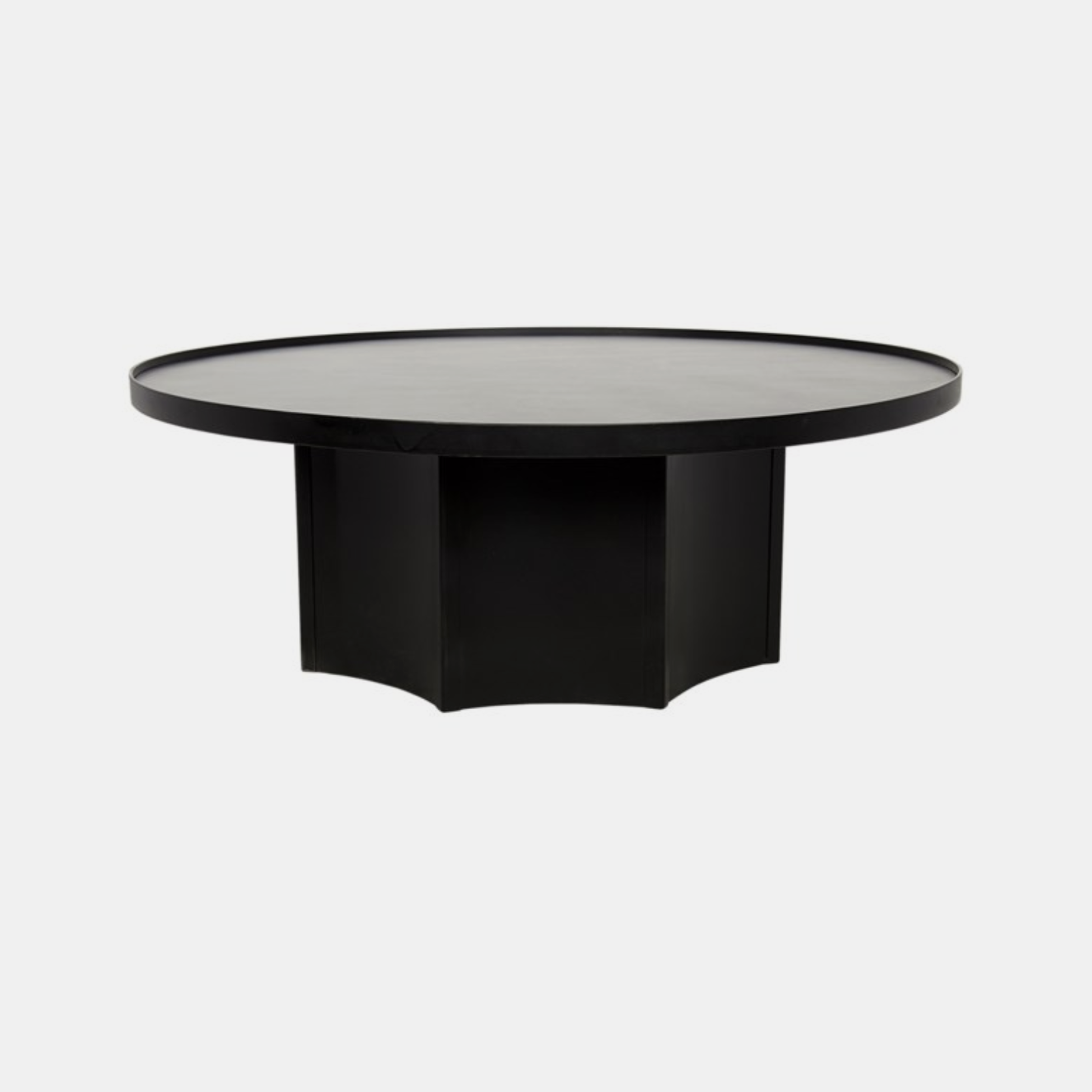 "Rome Coffee Table  47.5"" round x 17.5""h Also available as dining table. SKU0443NOR"
