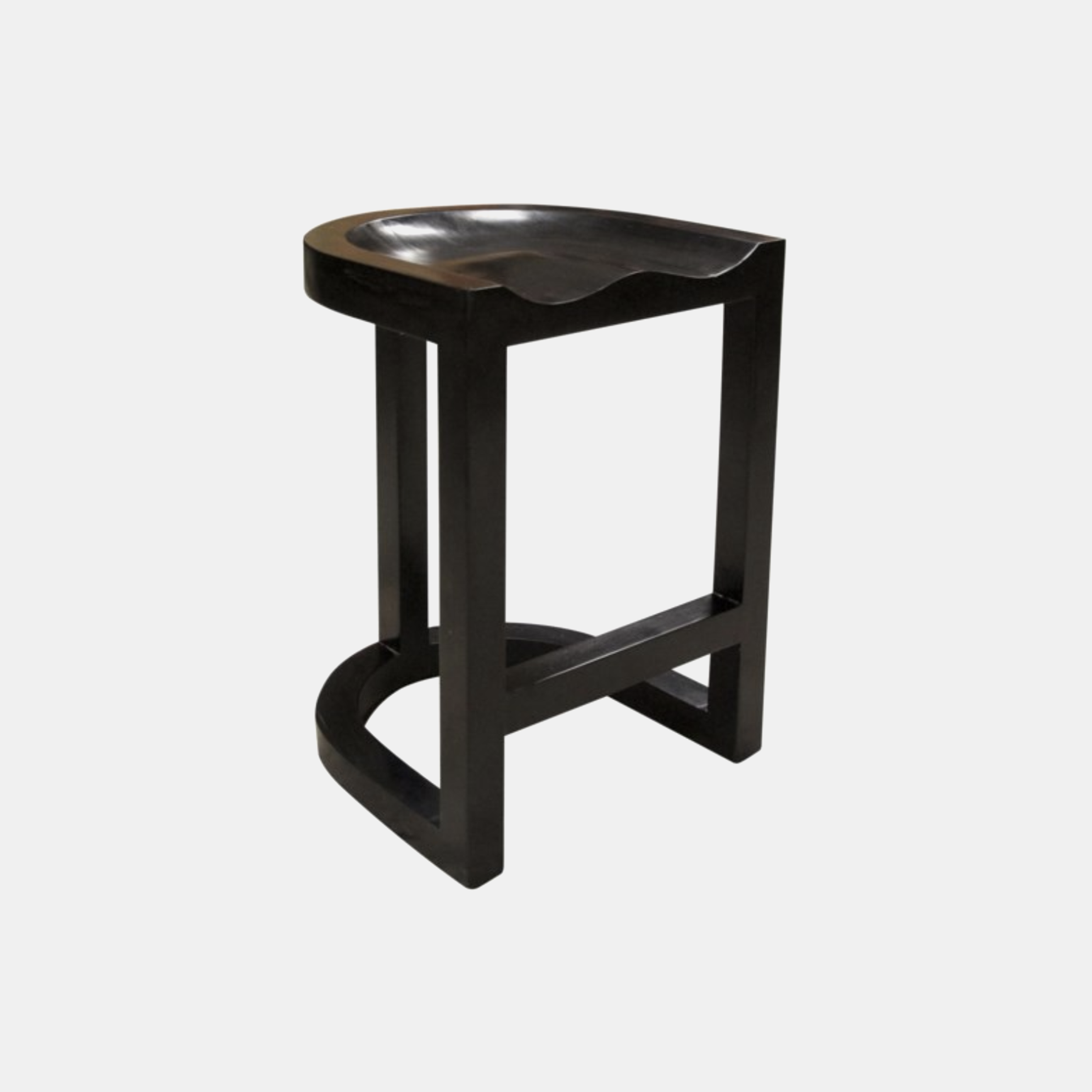 "Saddle Counter Stool  18""w X 20""d x 26""h Also available as bar stool. SKU443NOR"