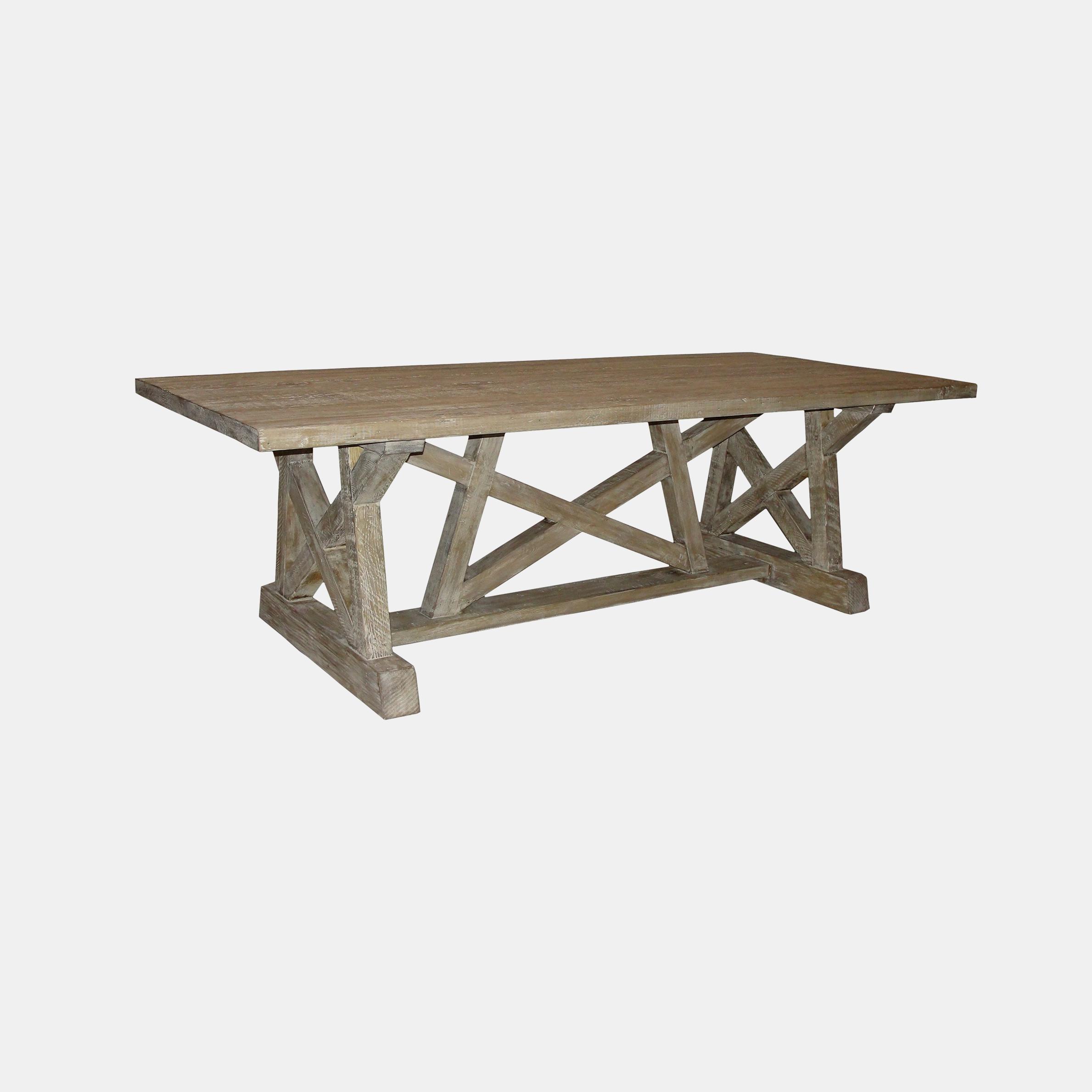 "Reclaimed Lumber Pentagon Dining Table  96"", 108"" or 144""l x 44""w x 30""h SKU0087CFC"