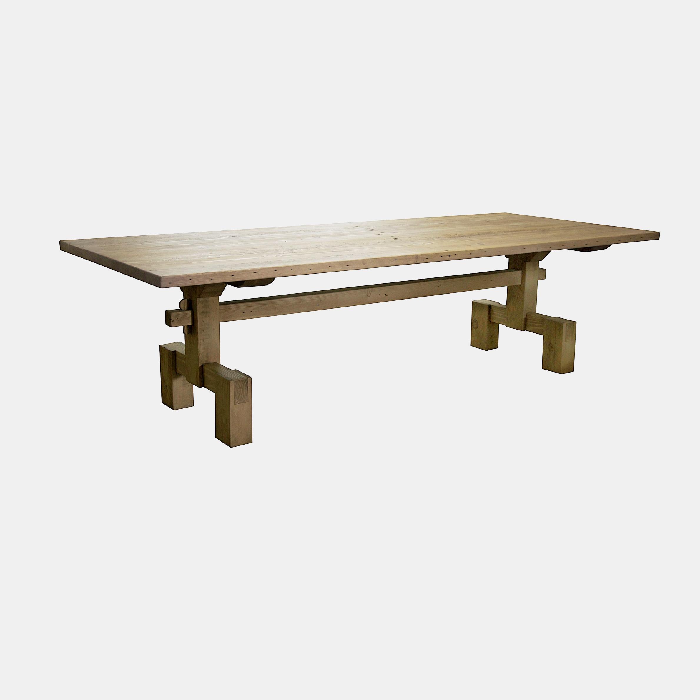 "Emilia Dining Table  96"", 108"" or 120""l x 44""w x 30.5""h SKU00541CFC"