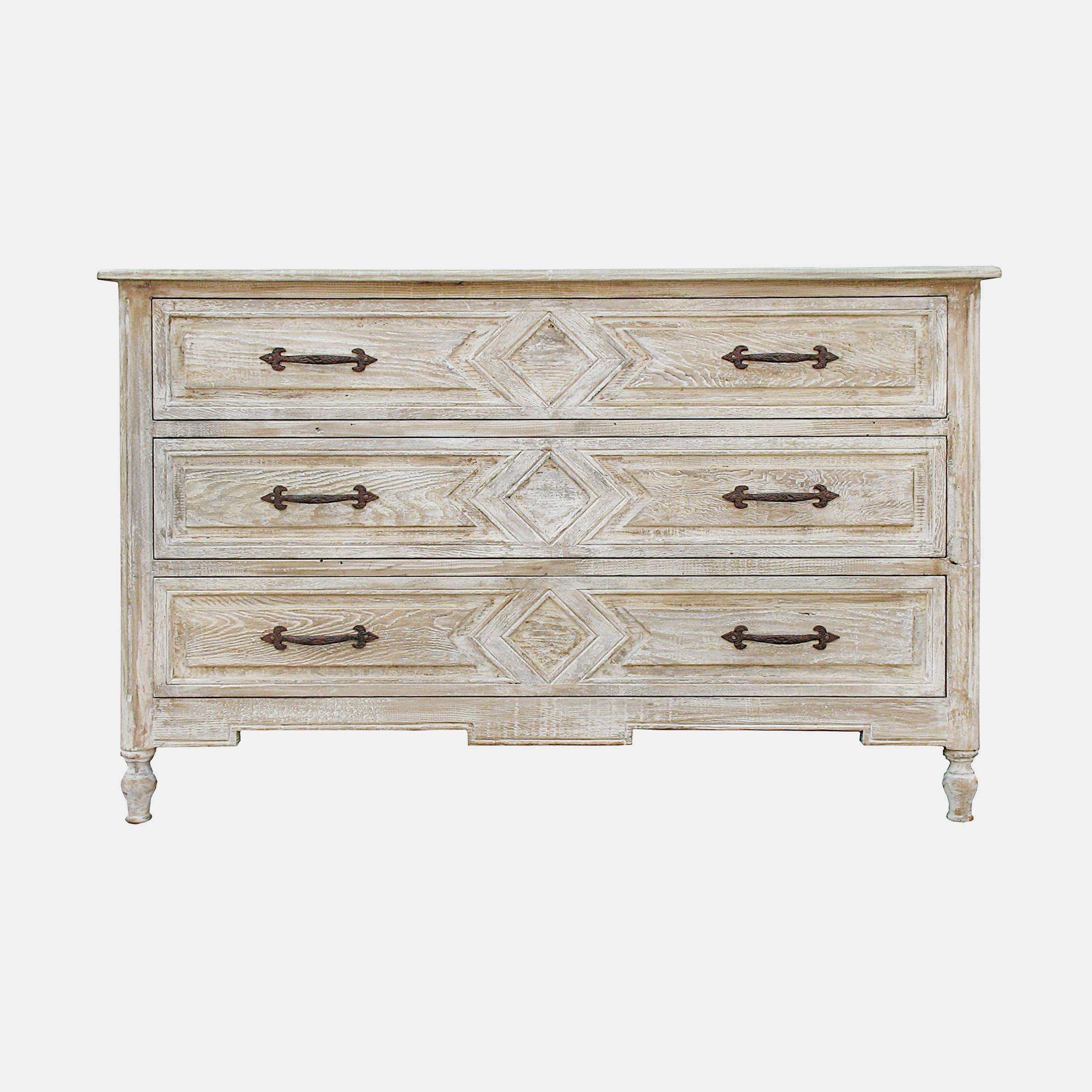 "Anderson Dresser  54""l x 23""d x 34""h Also available in 6-drawer dresser 80""l x 22""d x 36.5""h and 3-drawer nightstand 30""l x 20""d x 30""h. SKU887CFC"