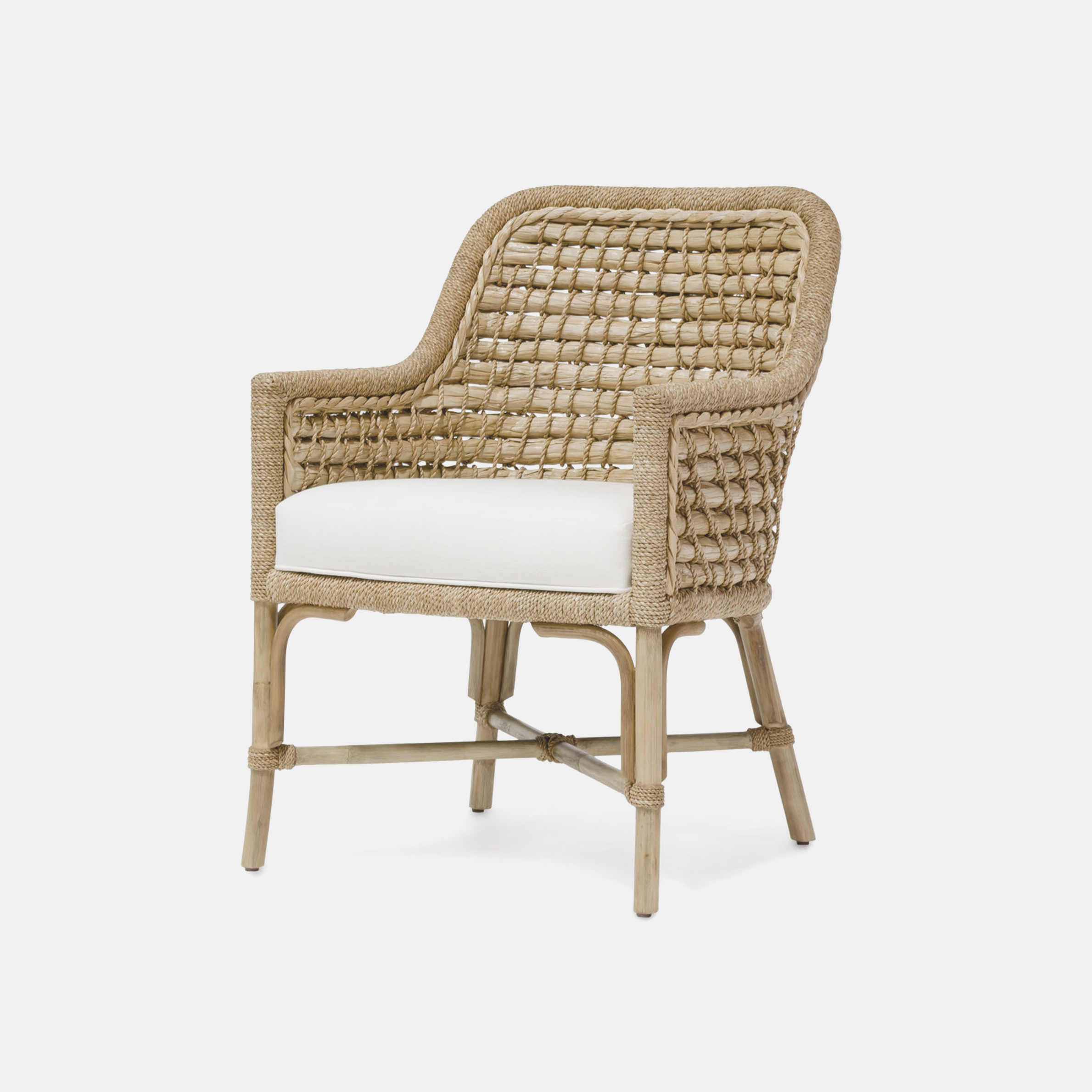"Capitola Arm Chair  23.75""w x 25.5""d x 34.5""h SKU3559PLK"