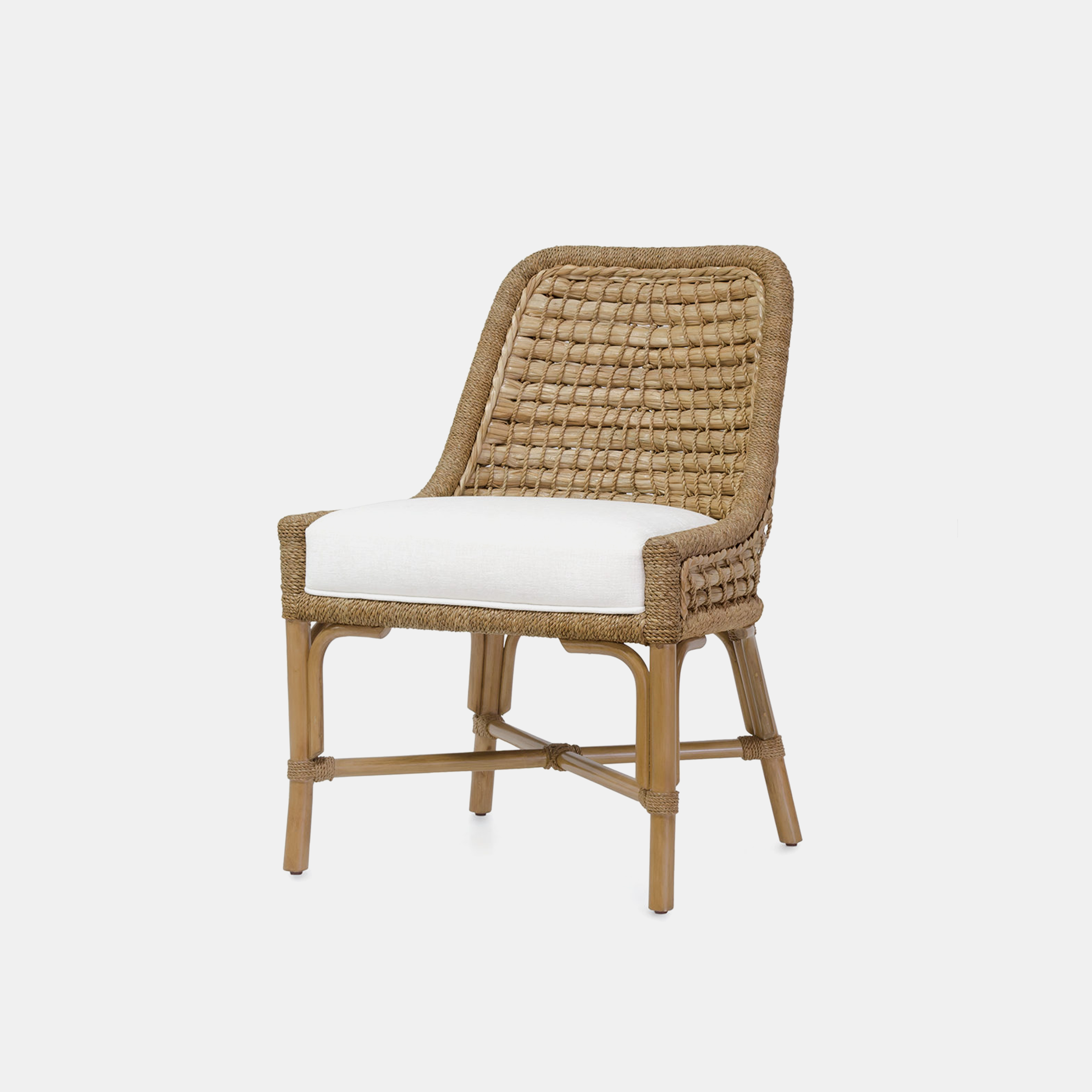 "Capitola Side Chair  23.5""w x 26.5""d x 34""h SKU1209PLK"