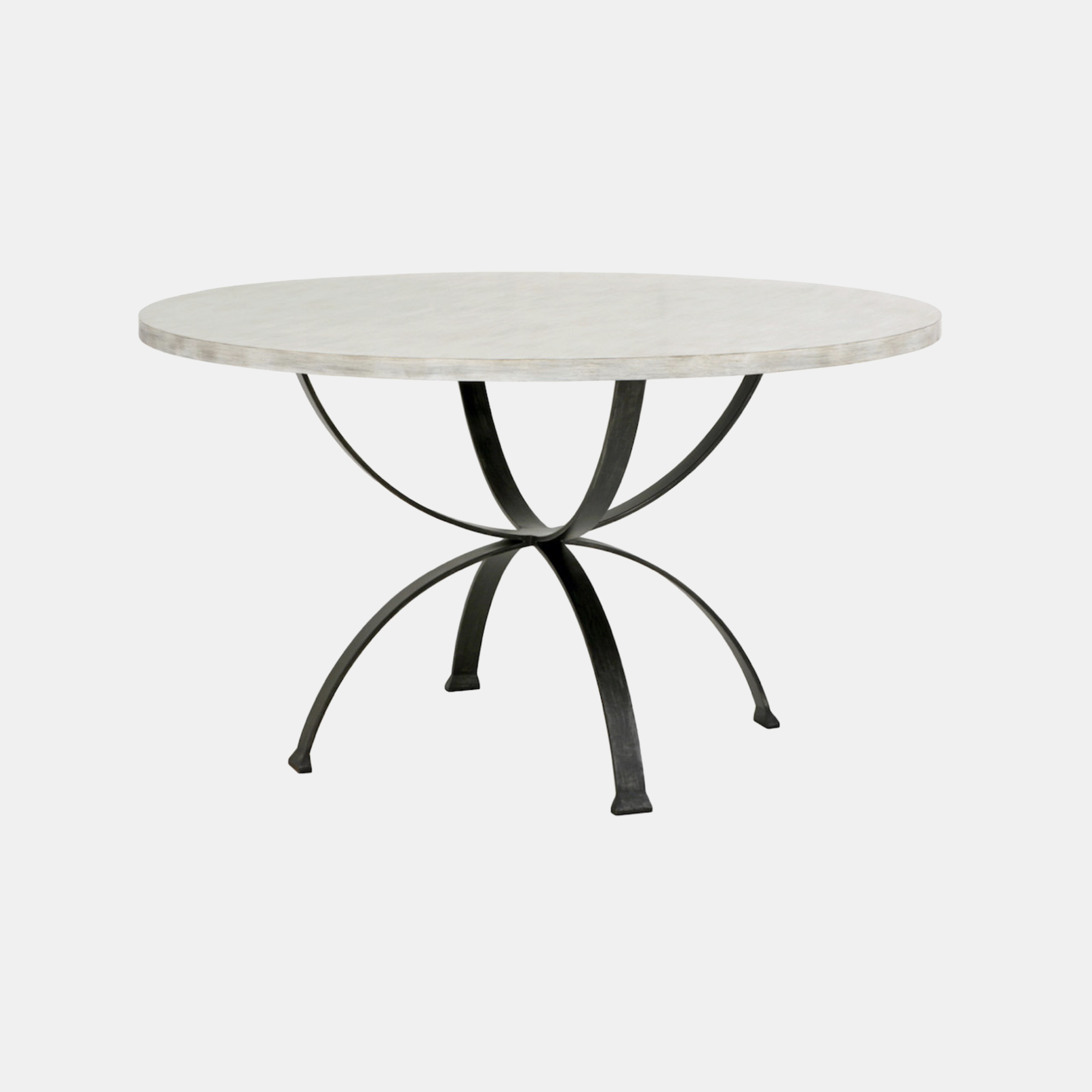"""Sophia Dining Table  44"""", 48"""", 54"""" or 60"""" round x 30""""h Available in several top and base finishes. Also available as square dining table. SKU934RFH"""