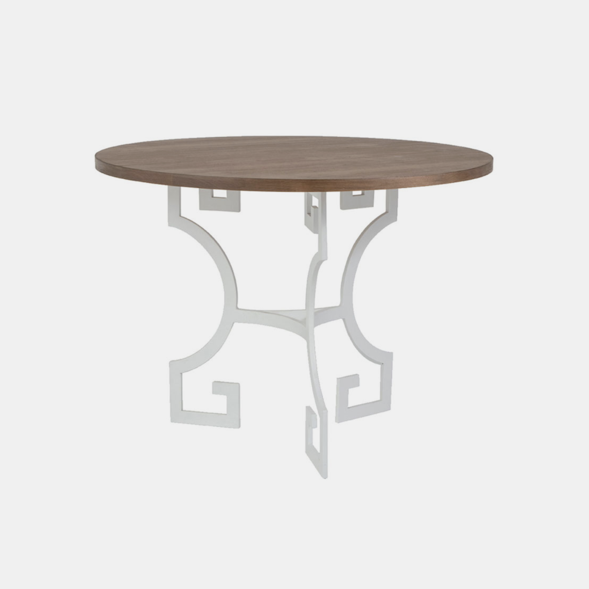 """Julius Side Table  24"""", 26"""" or 28"""" round x 21""""h Available in several top and base finishes. SKU424RFH"""