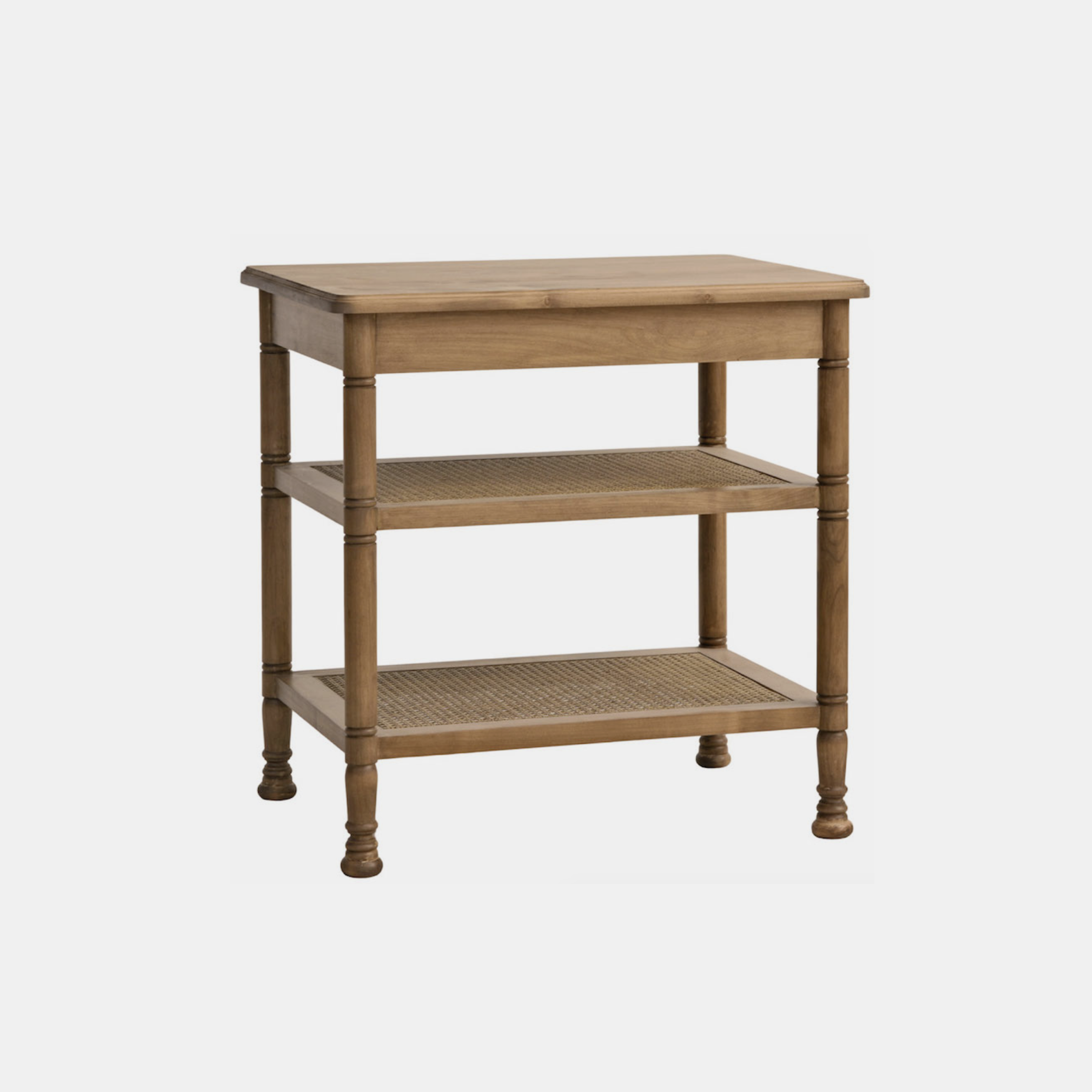 """Wellesley Cane Side Table  28""""l x 21""""d x 28""""H Available in several wood finishes and painted or stained cane. SKU4112RFH"""