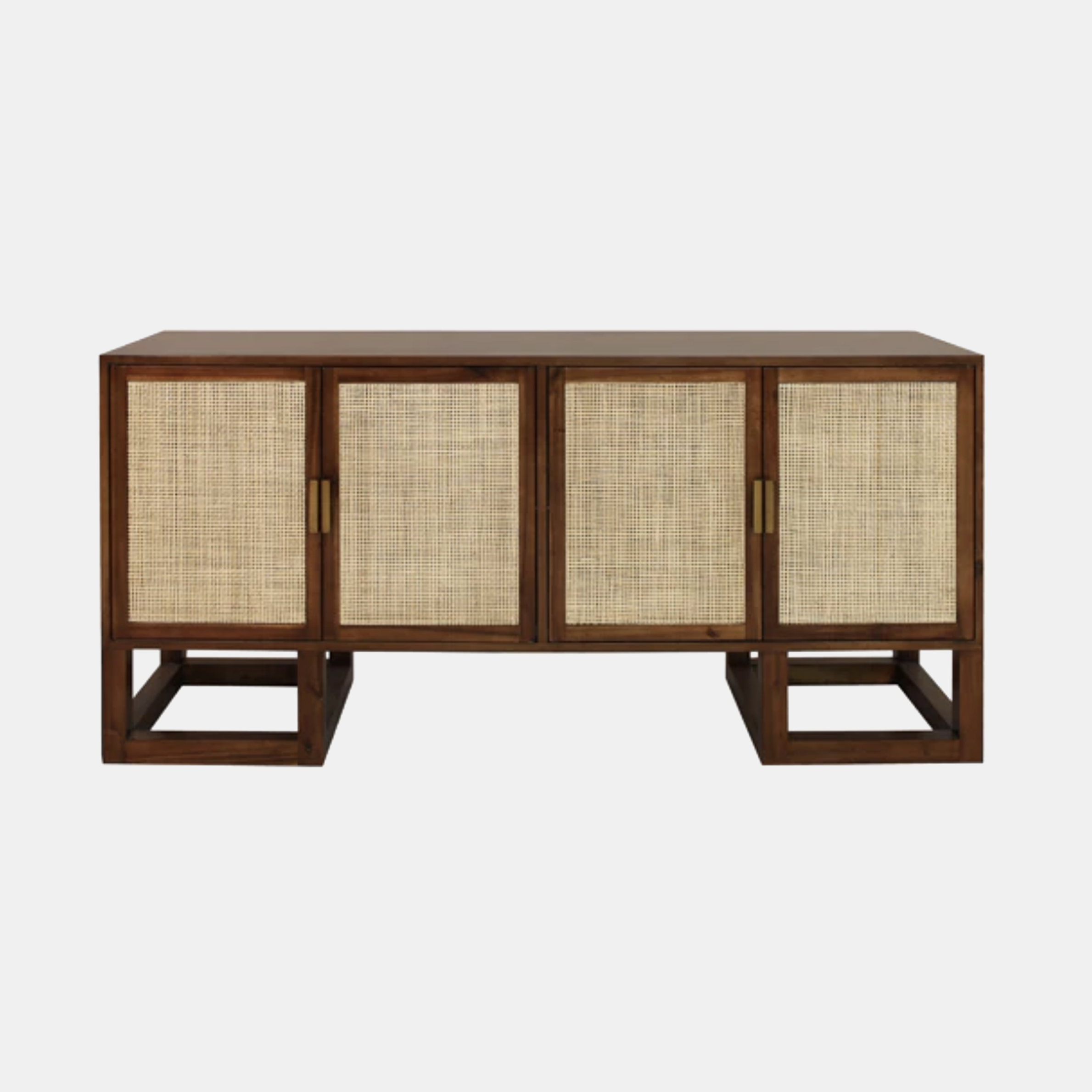 "Patrick Cabinet  68""l x 20""d x 32""h Available in acacia wood (shown) and pine. SKU3298WAY"