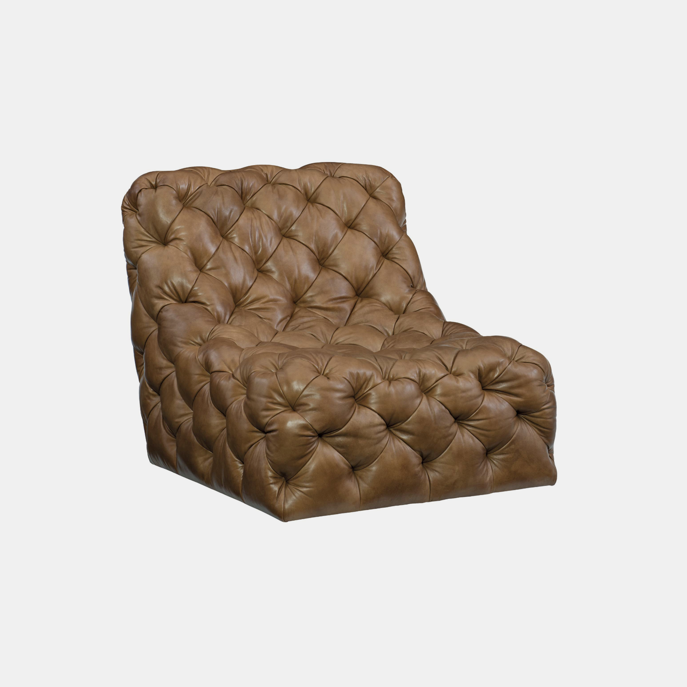 "Rigby Chair  34.5""w x 40""d x 33.5""h Available in leathers. Also available as swivel. SKU99138BHT"