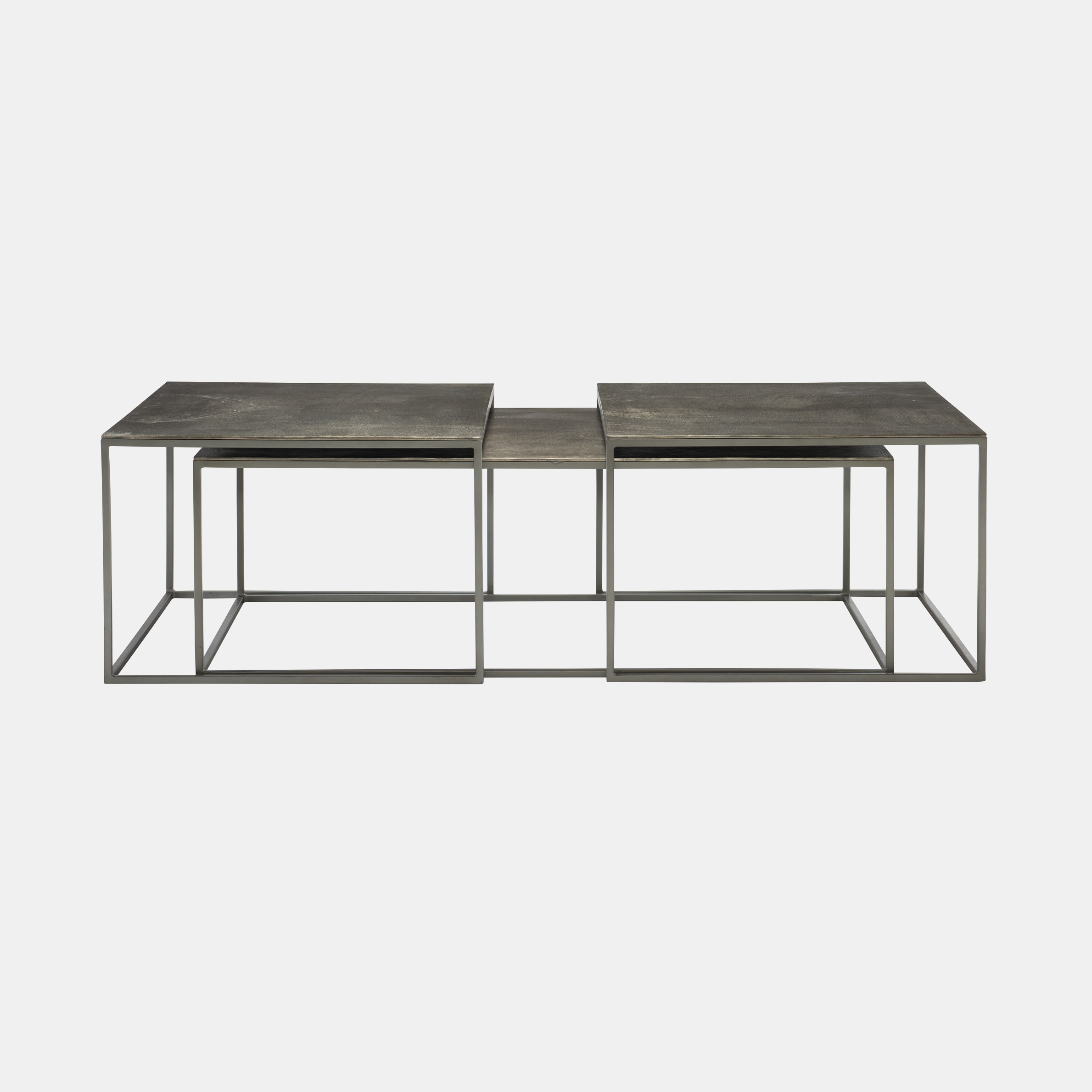 "Eaton Nesting Cocktail Table  56""l x 28""w x 19.25""h Also available as 2 nesting side tables. SKU5690BHT"