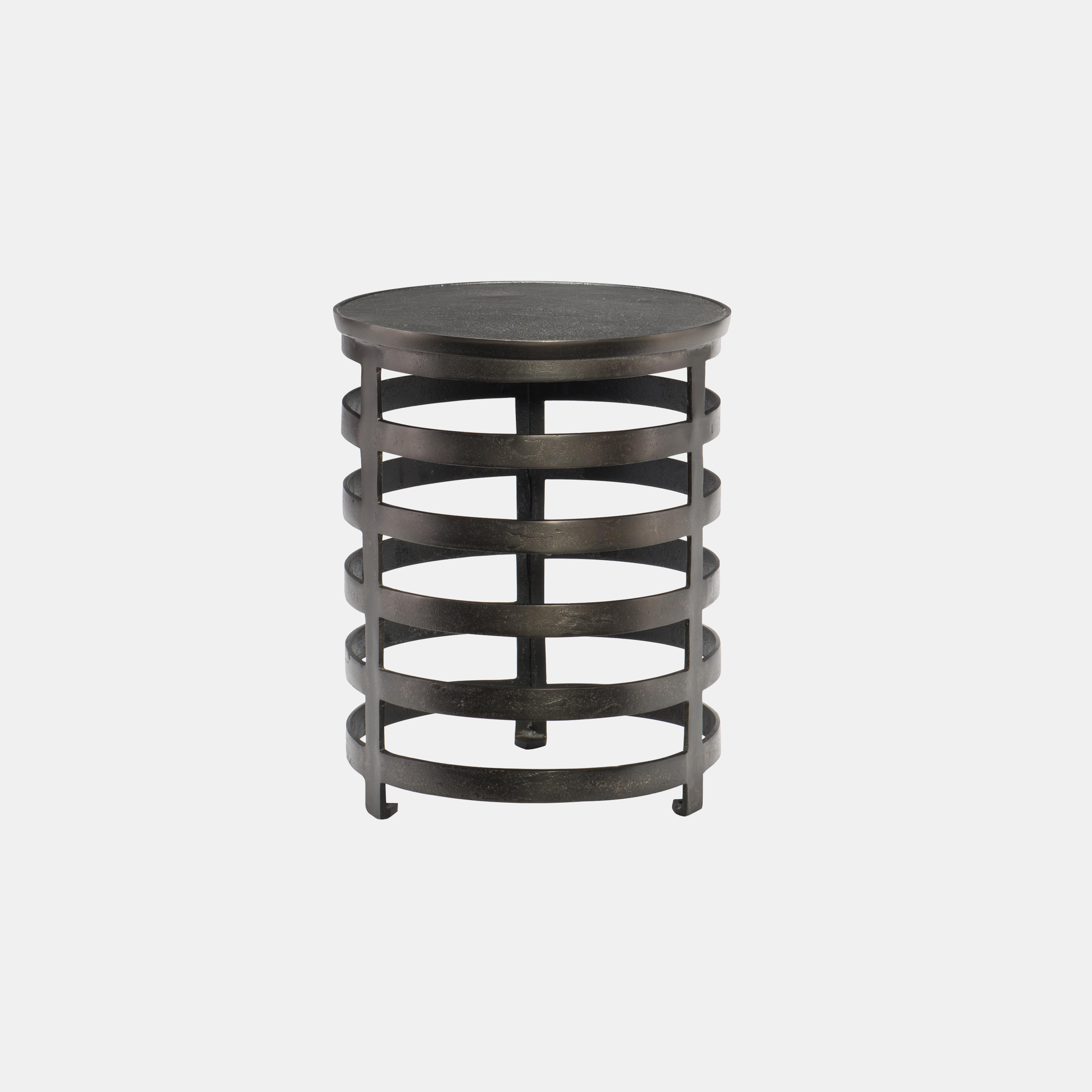 """Apsley Side Table  16"""" round x 20""""h SKU128BHT"""