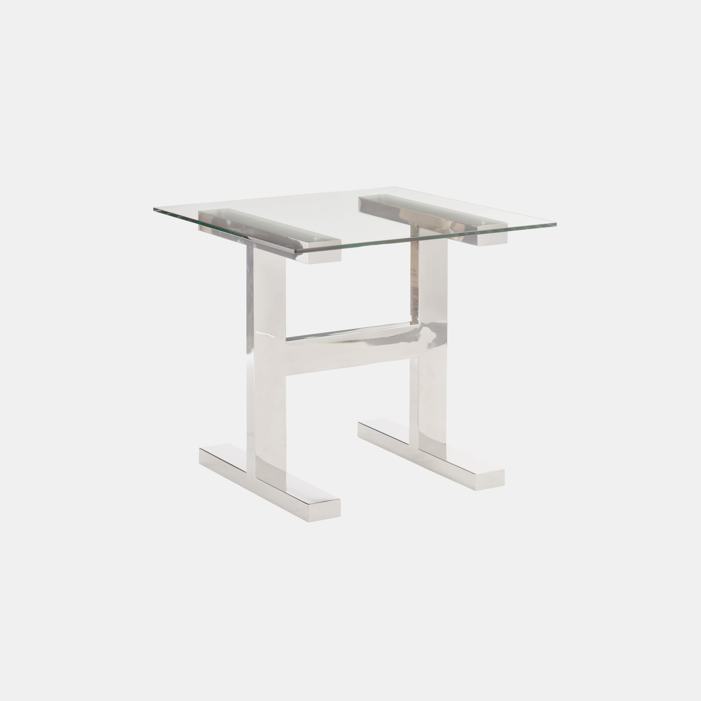 """Aria Side Table  26"""" square x 24""""h Also available as cocktail table and desk. SKU1134BHT"""