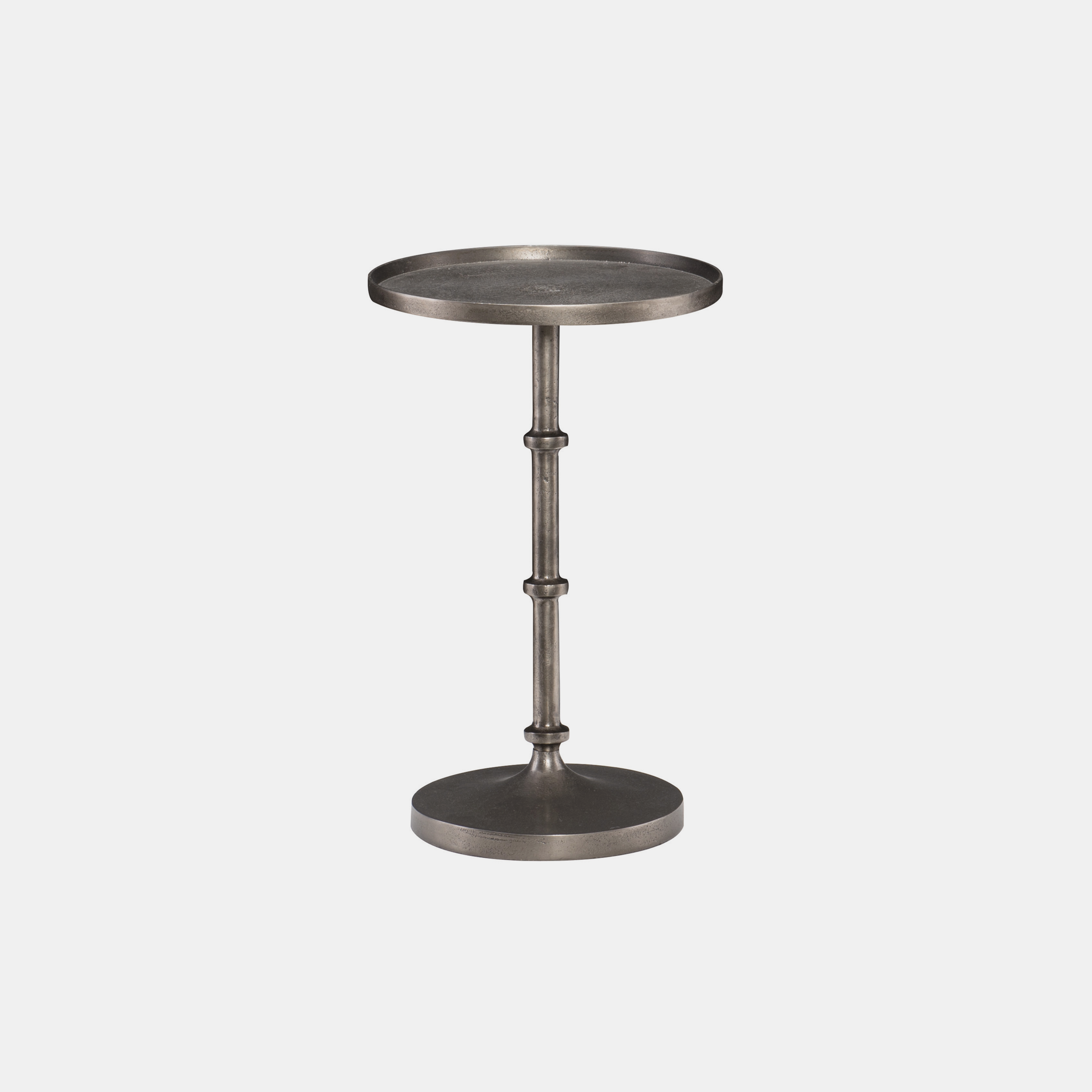 """Ascot Side Table  12"""" round x 20""""h SKU1109BHT"""