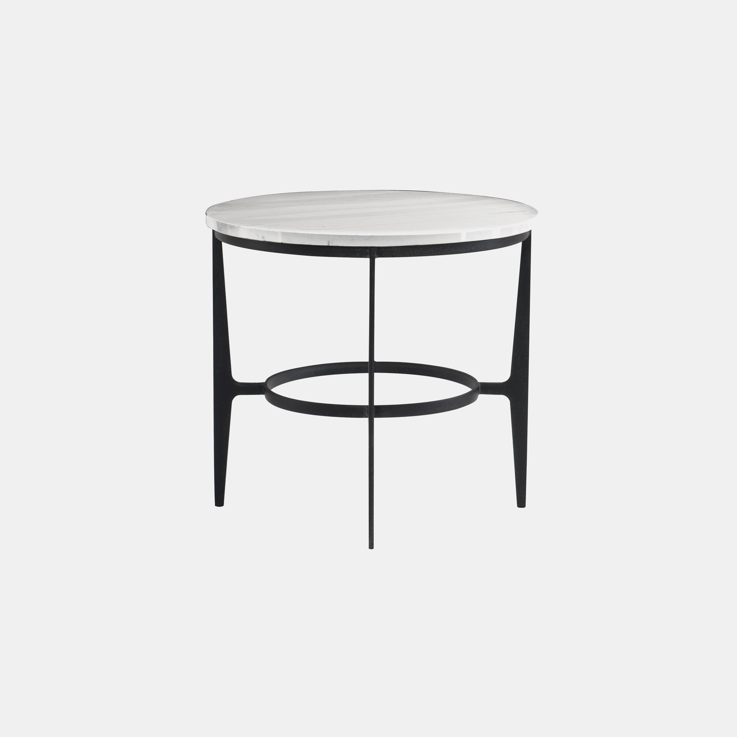 "Avondale Side Table  26"" round x 24""h SKU5803BHT"