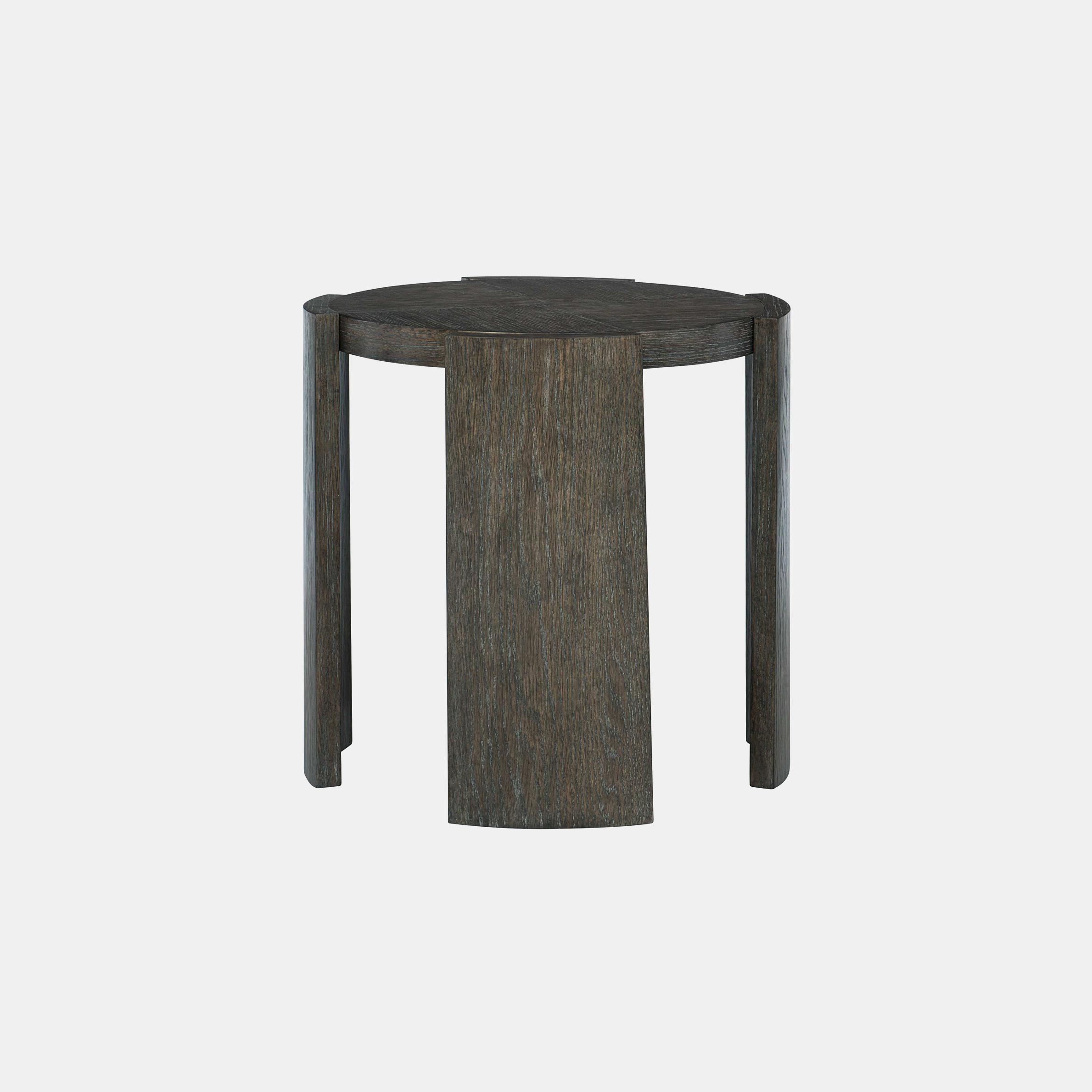 "Linea Side Table  24"" round x 24"" h SKU990BHT"