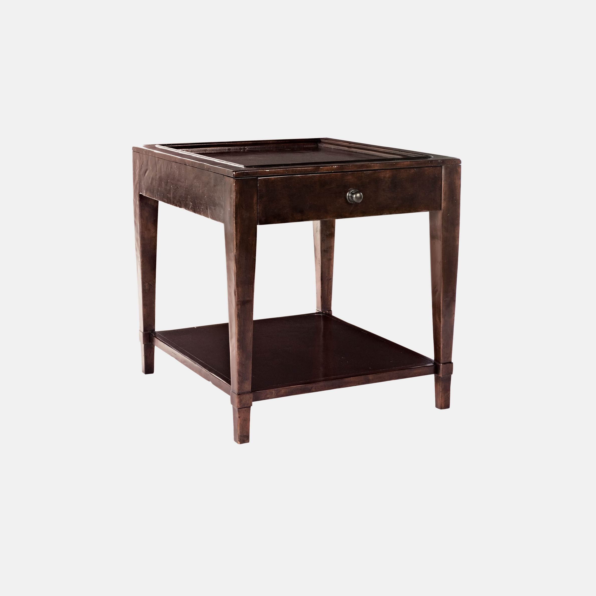 """Vintage Patina End Table  24""""l x 27""""d x 25-1/8""""h Also available as cocktail table and bar cabinet. SKU19357BHT"""
