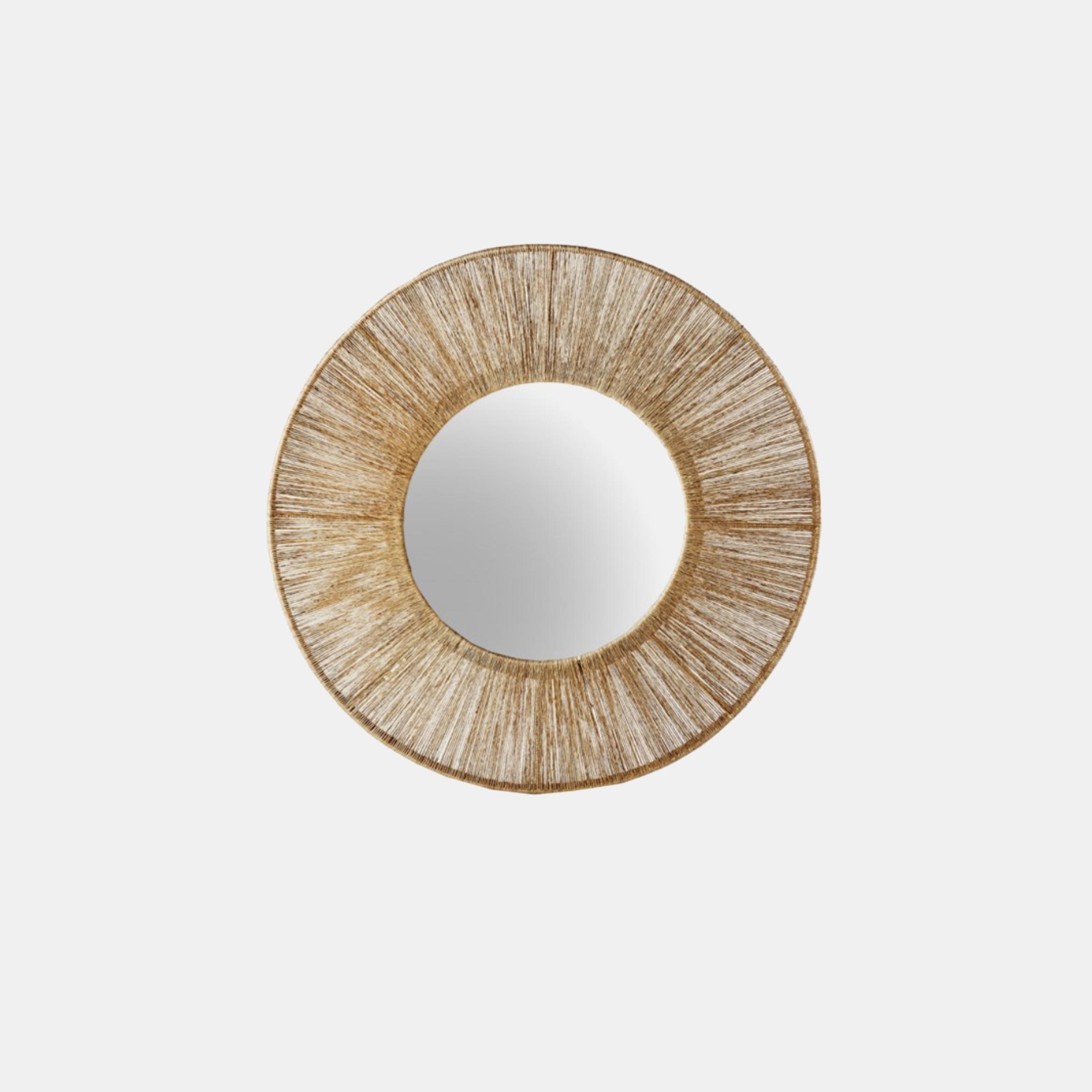 "Highball Round Mirror  36"" SKU0088SLM"